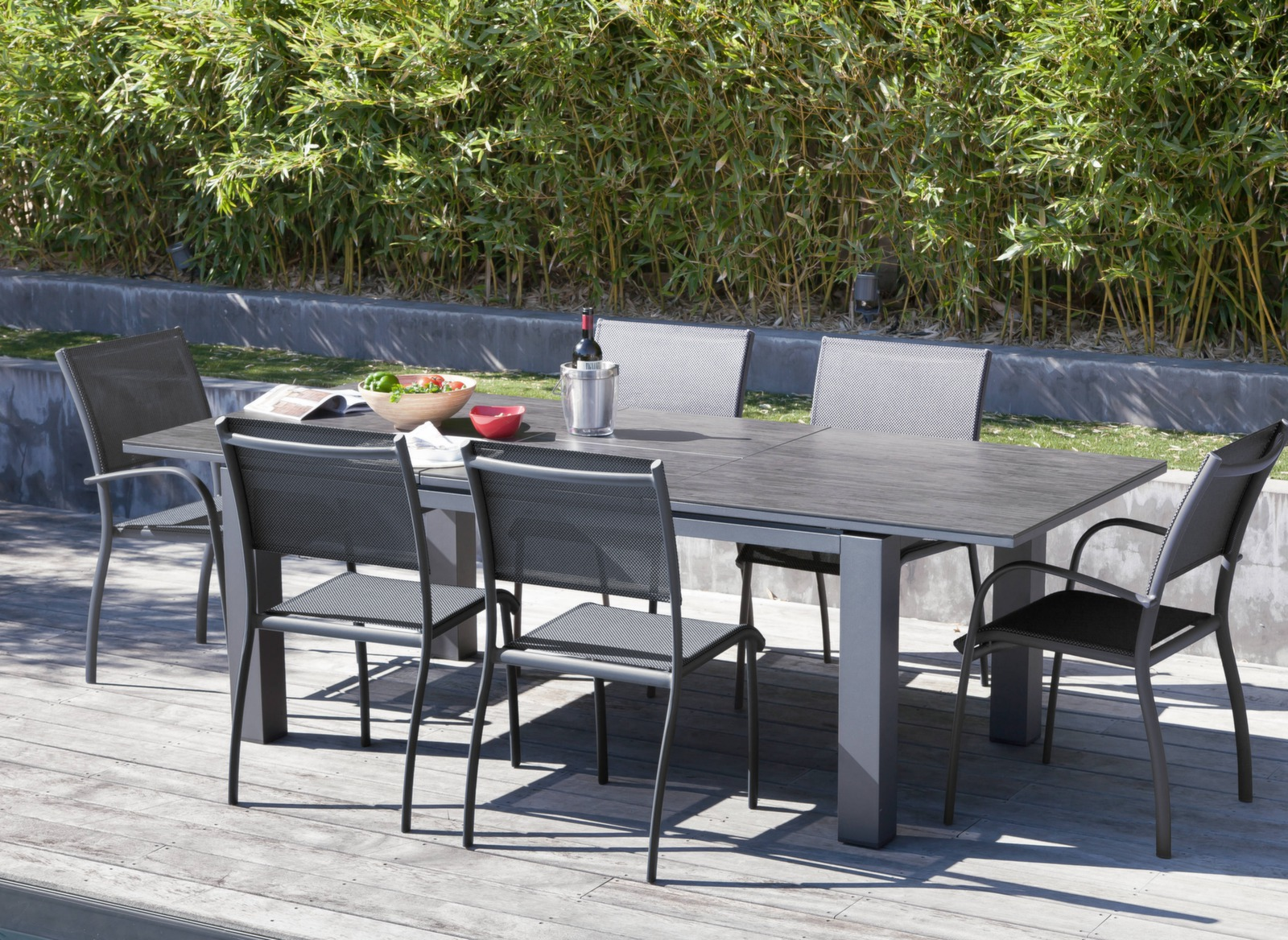 Stunning Table Jardin Alu Oceo Images - House Design - marcomilone.com