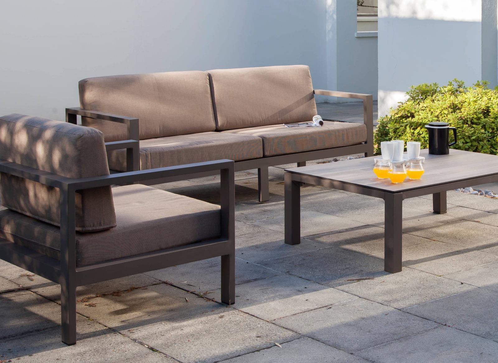 canap de jardin 3 places castille mobilier de jardin. Black Bedroom Furniture Sets. Home Design Ideas