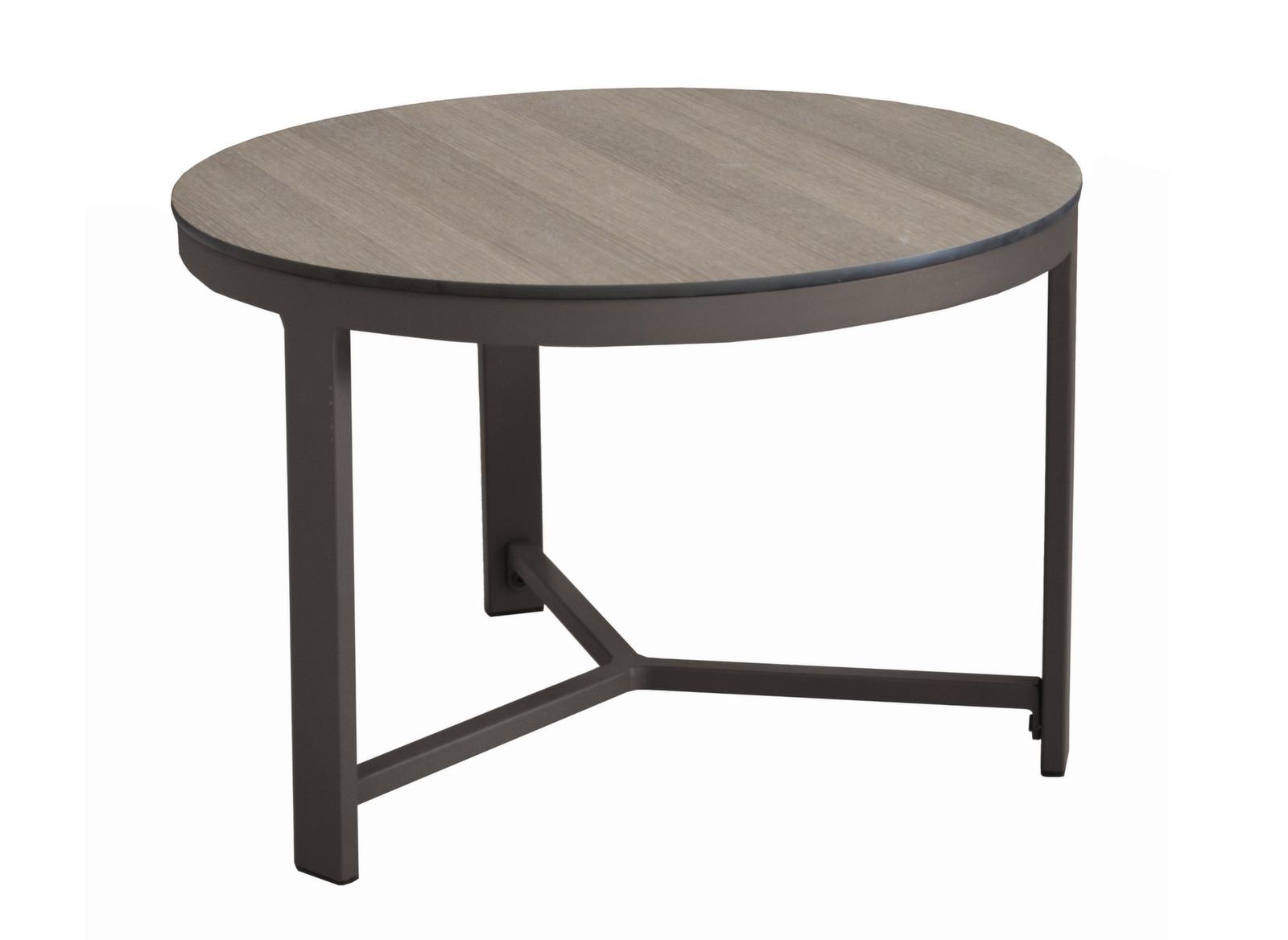 Table basse augusta 60 cm plateau hpl tables basses for Table basse design 60 cm