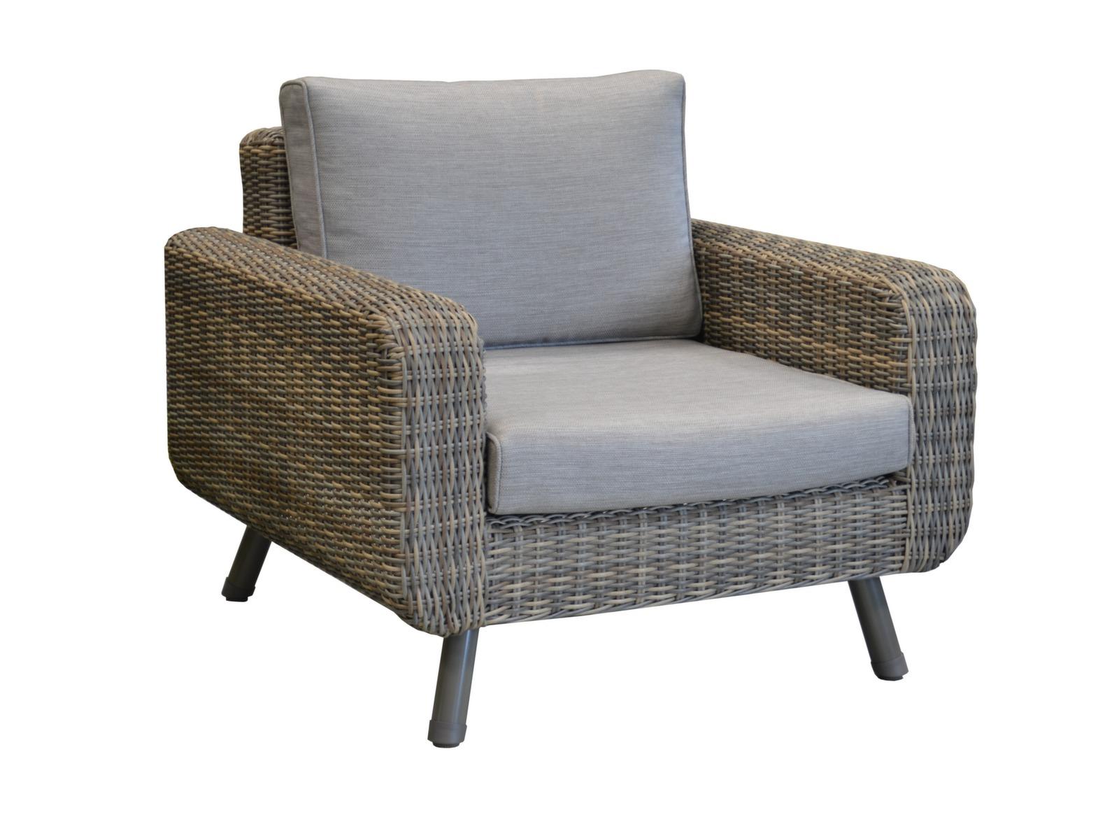 fauteuil de jardin r sine tress e vigo gamme oc o proloisirs. Black Bedroom Furniture Sets. Home Design Ideas