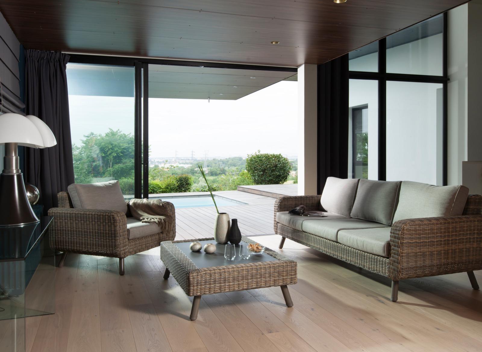 canap de jardin haut de gamme 3 places vigo gamme oc o proloisirs. Black Bedroom Furniture Sets. Home Design Ideas