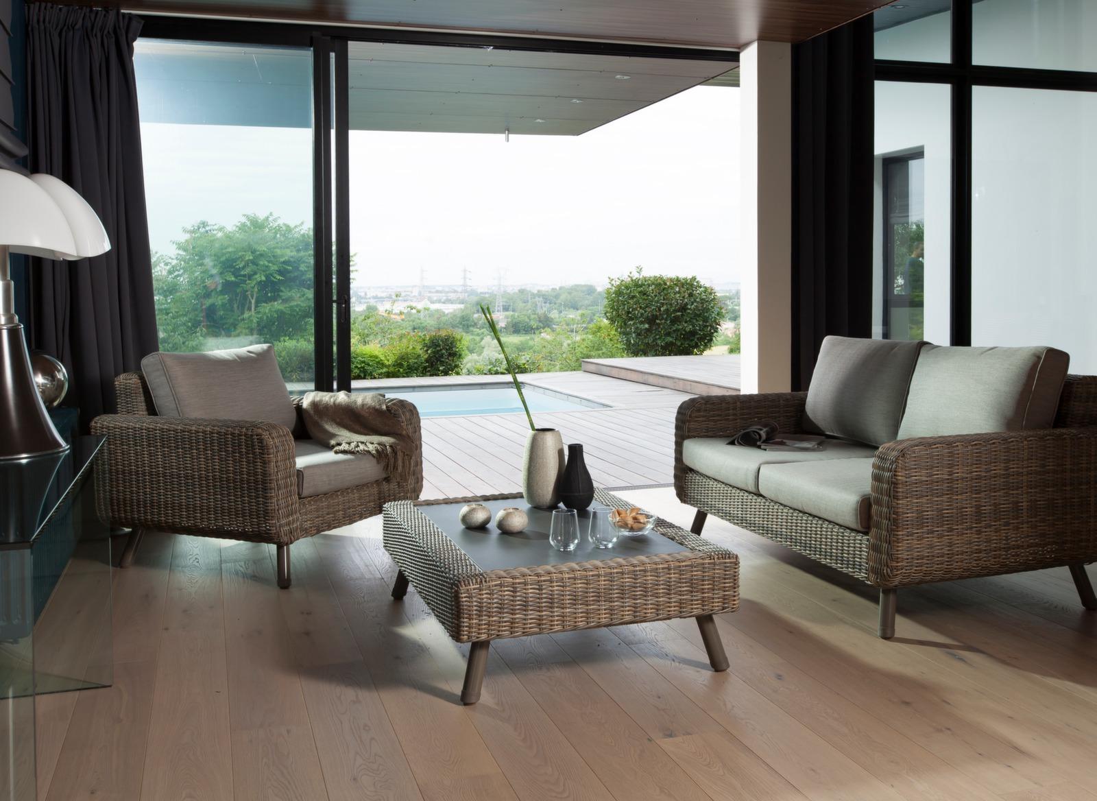 Canapé de jardin haut de gamme 2 places Vigo - Gamme Océo - Proloisirs 40daba62f174