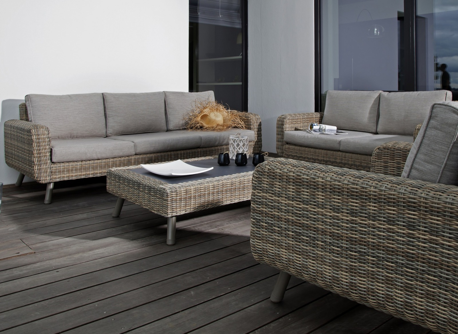 canap de jardin 3 places vigo mobilier de jardin proloisirs. Black Bedroom Furniture Sets. Home Design Ideas