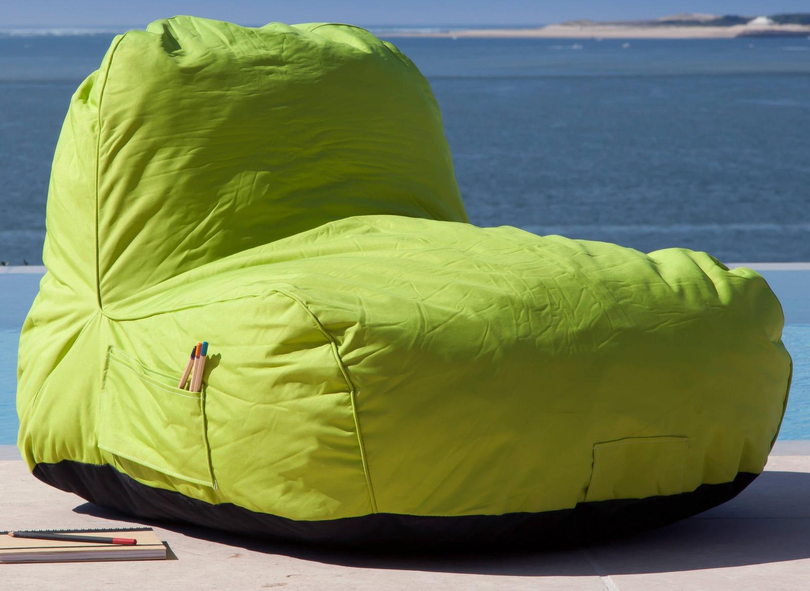 Chaise pouf Malibu