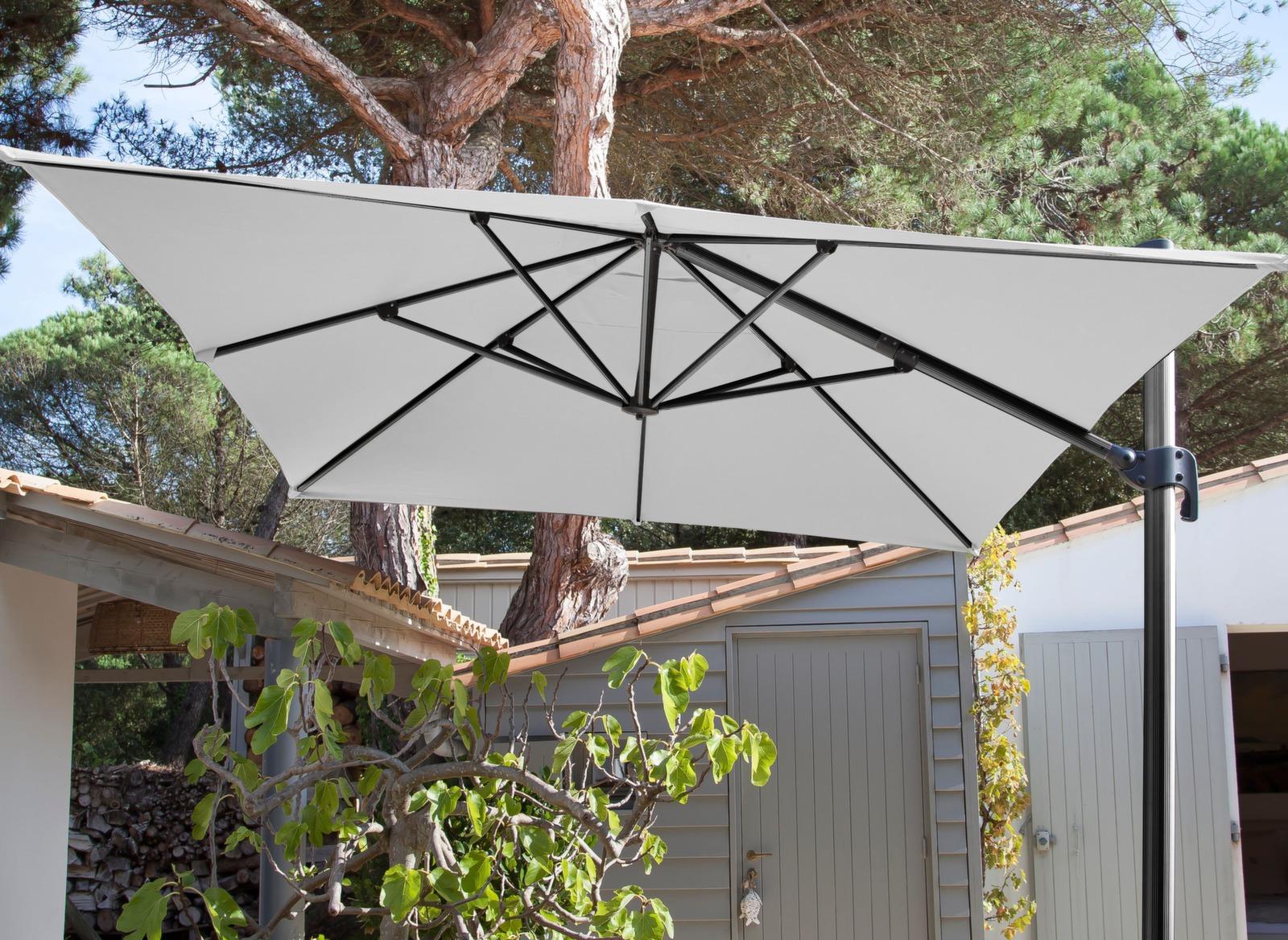 toile pour parasol d port rectangle 3x4m proloisirs. Black Bedroom Furniture Sets. Home Design Ideas