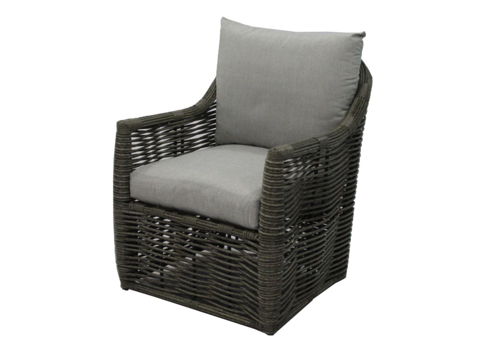 Promotion fauteuil de jardin cane en r sine tress e proloisirs - Fauteuil detente jardin ...