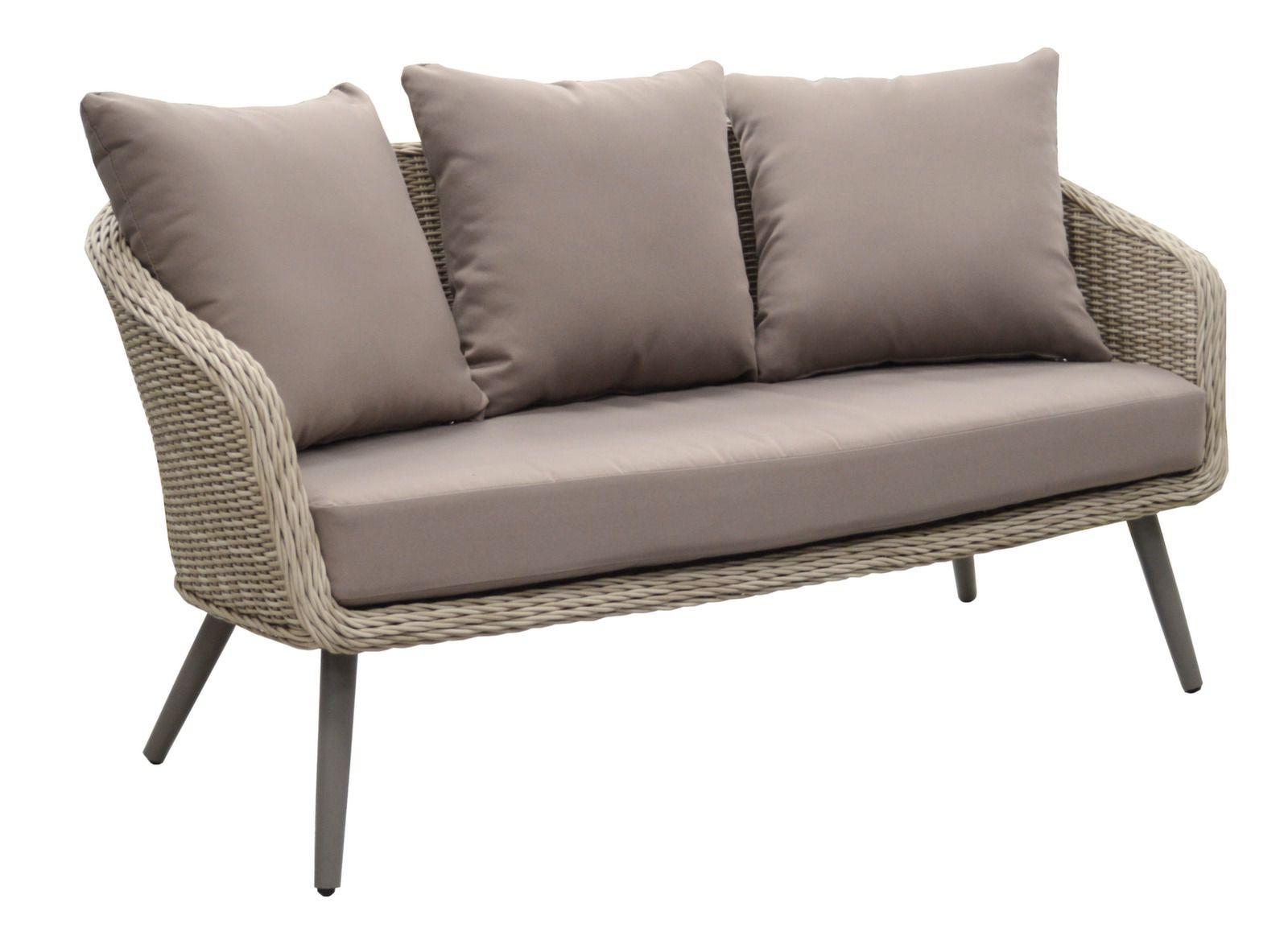 salon de jardin augusta canap fauteuils table basse. Black Bedroom Furniture Sets. Home Design Ideas