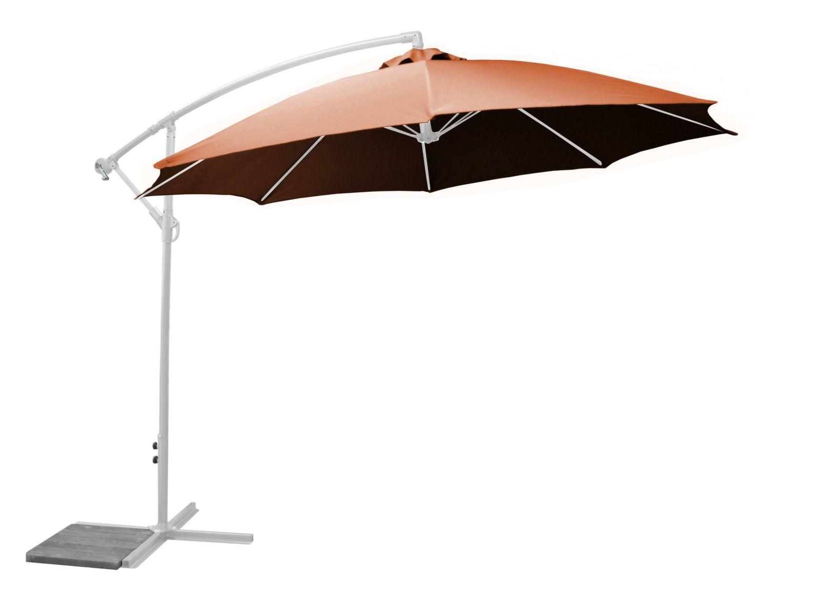 parasol d port marron d perlant 3m proloisirs. Black Bedroom Furniture Sets. Home Design Ideas