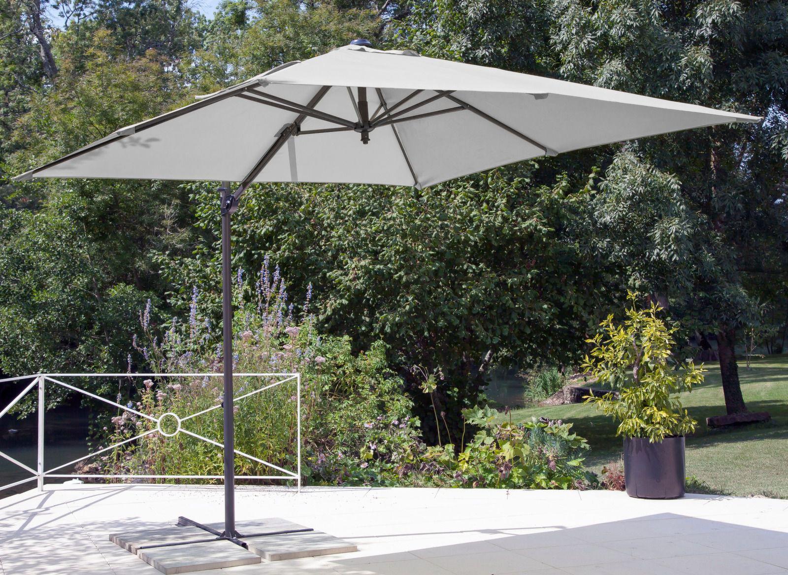 parasol carr d port et inclinable roma gamme aliz. Black Bedroom Furniture Sets. Home Design Ideas