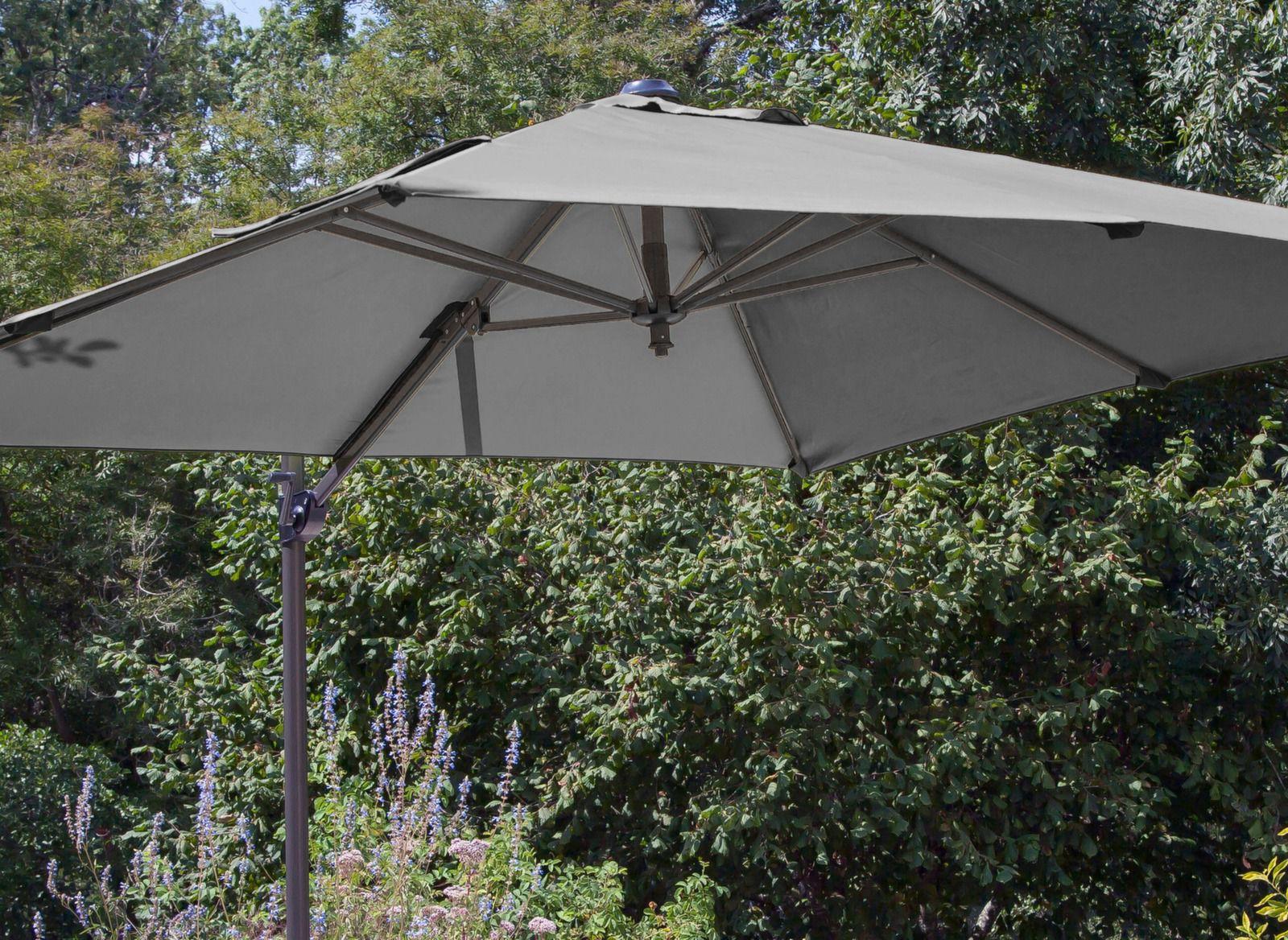toile blanche pour parasol d port roma 2 5 x 2 5 m. Black Bedroom Furniture Sets. Home Design Ideas