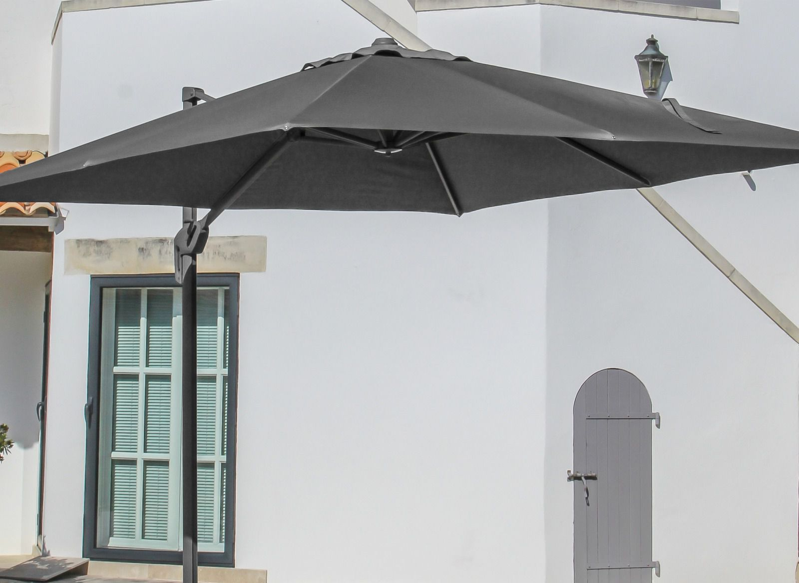 toile de parasol d port carr 3x3m accessoires parasol. Black Bedroom Furniture Sets. Home Design Ideas