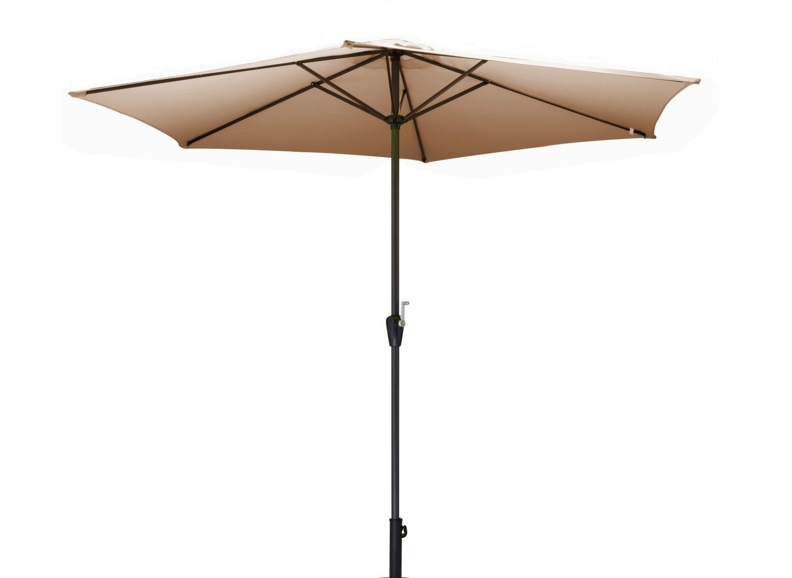 parasol manivelle