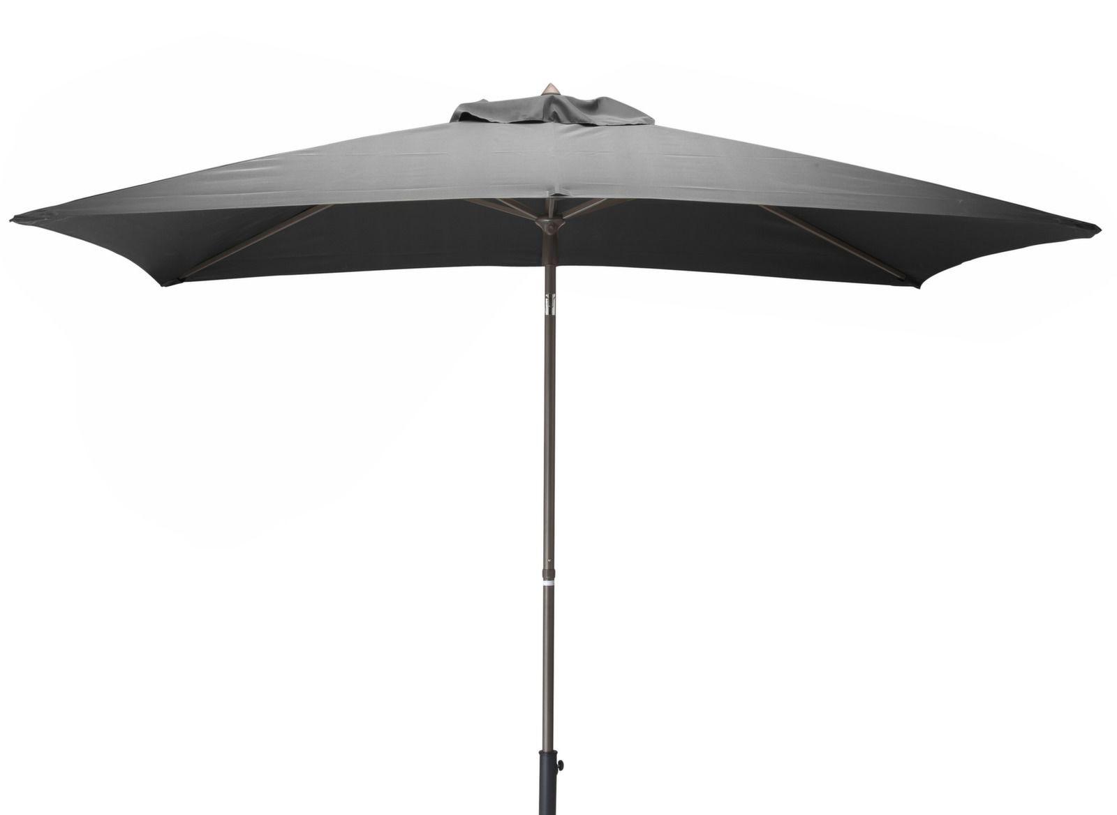 Parasol en aluminium inclinable 3x2m proloisirs - Parasol rectangulaire inclinable castorama ...