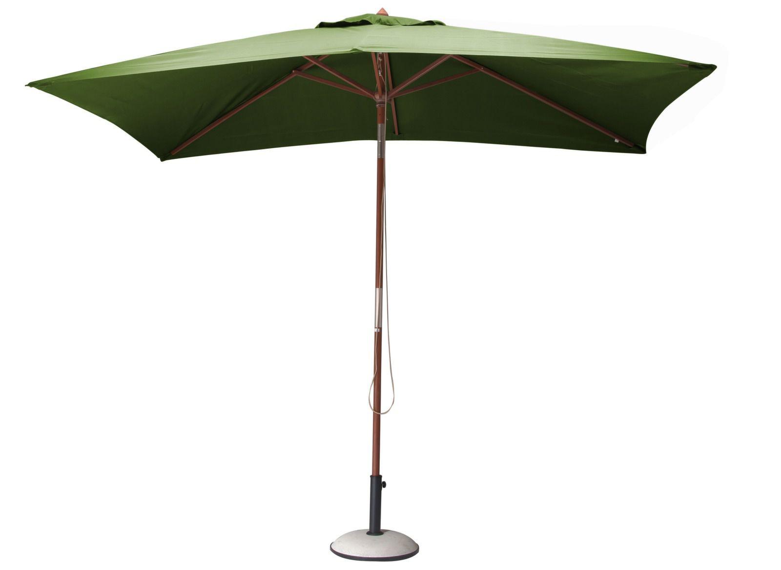 parasol en bois 3 x 2m promotion parasol bois proloisirs. Black Bedroom Furniture Sets. Home Design Ideas
