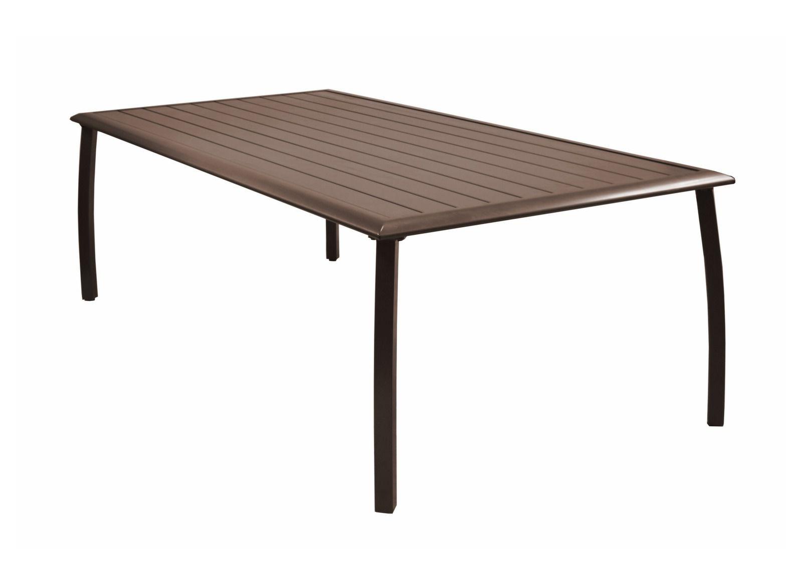 table azur 225 x 110 cm mobilier de jardin pour le repas promotions bons plans proloisirs. Black Bedroom Furniture Sets. Home Design Ideas