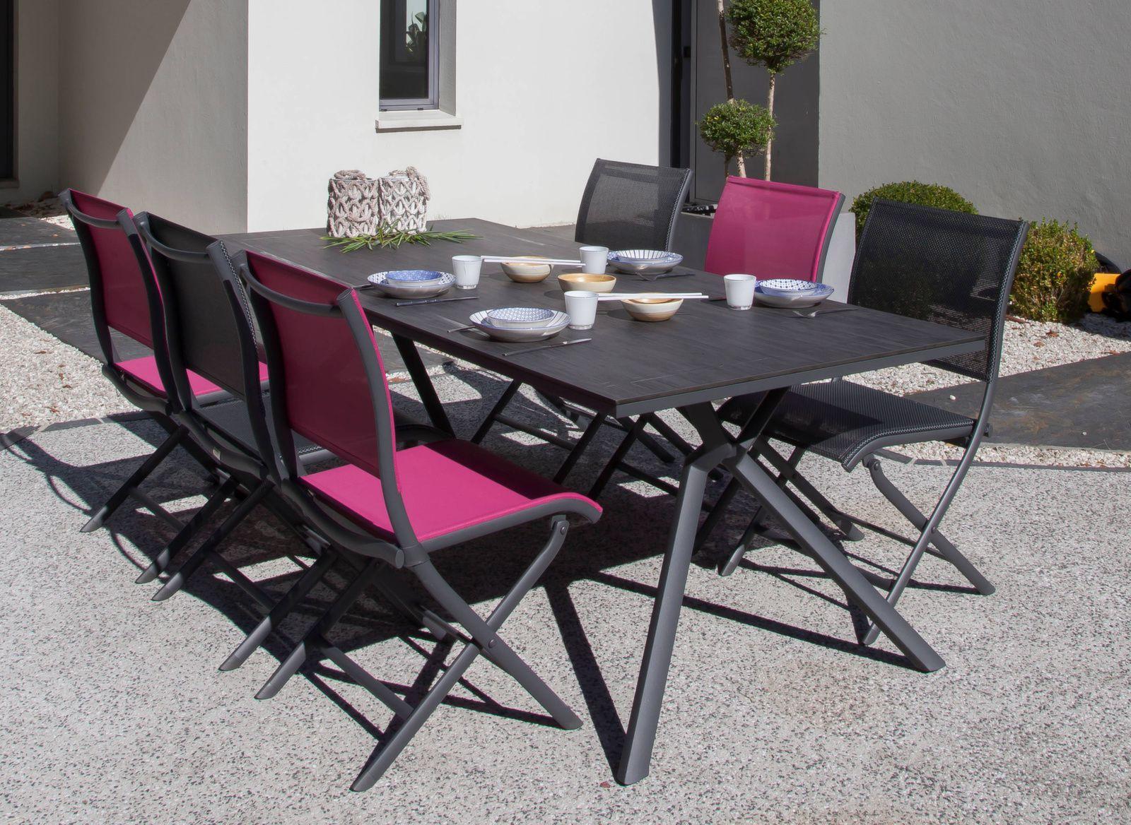 Table Loane 210 cm, plateau Trespa® (finition époxy)