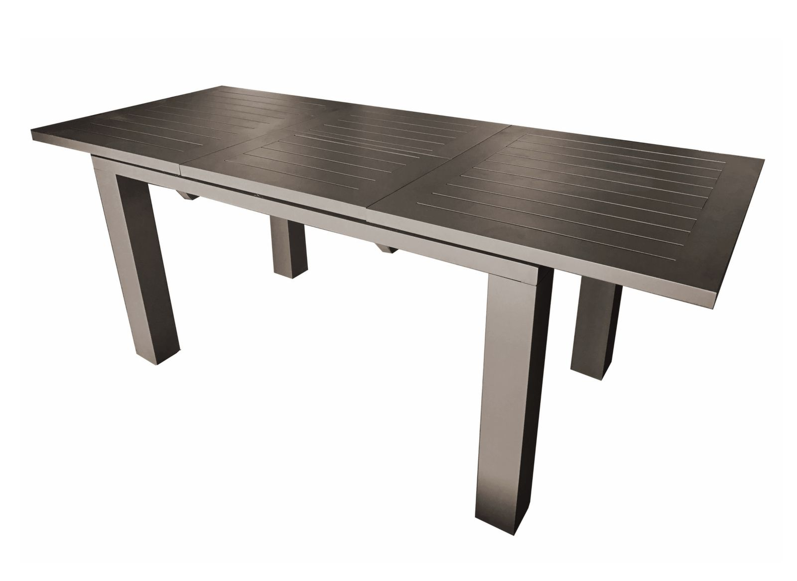 Table de jardin Elisa 180/240 cm (Finition Epoxy) - Proloisirs