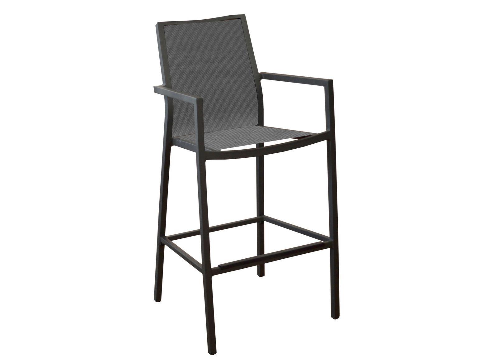 Mange-debout Stonéo plateau Trespa® + 4 sièges