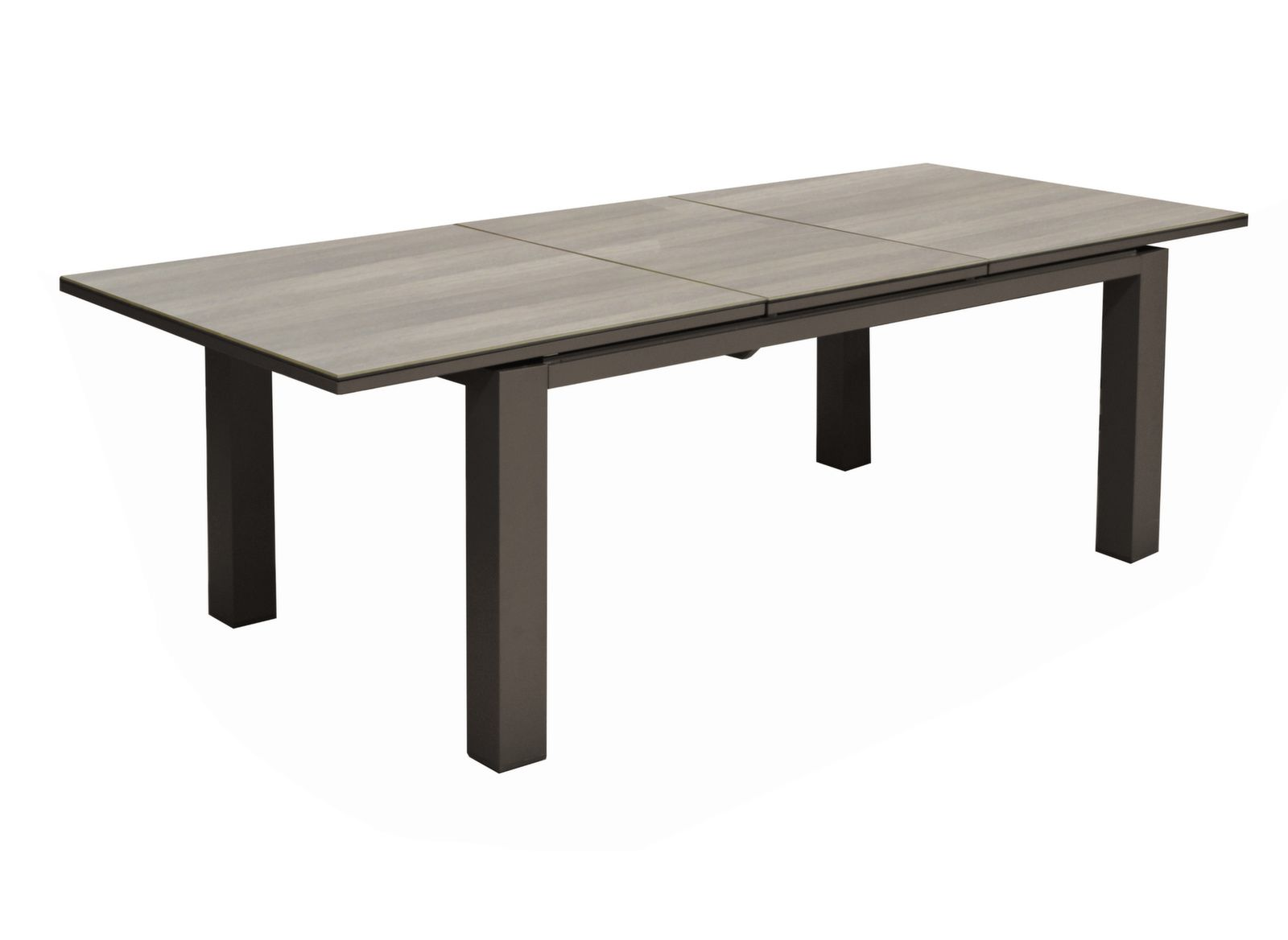 Table Olivier 180/240 cm, Plateau Trespa®