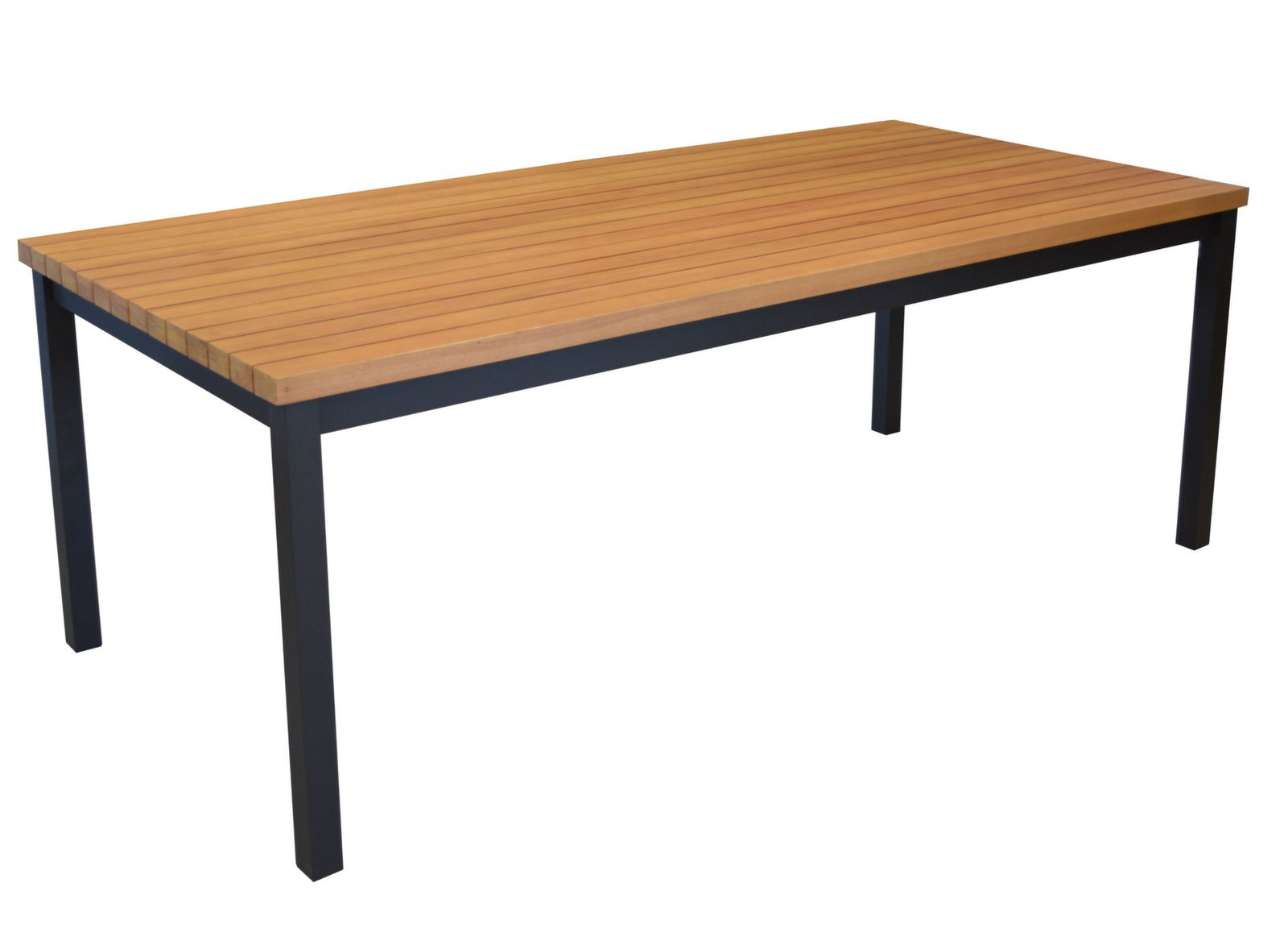 Table Vegas 210 cm, plateau Eucalyptus