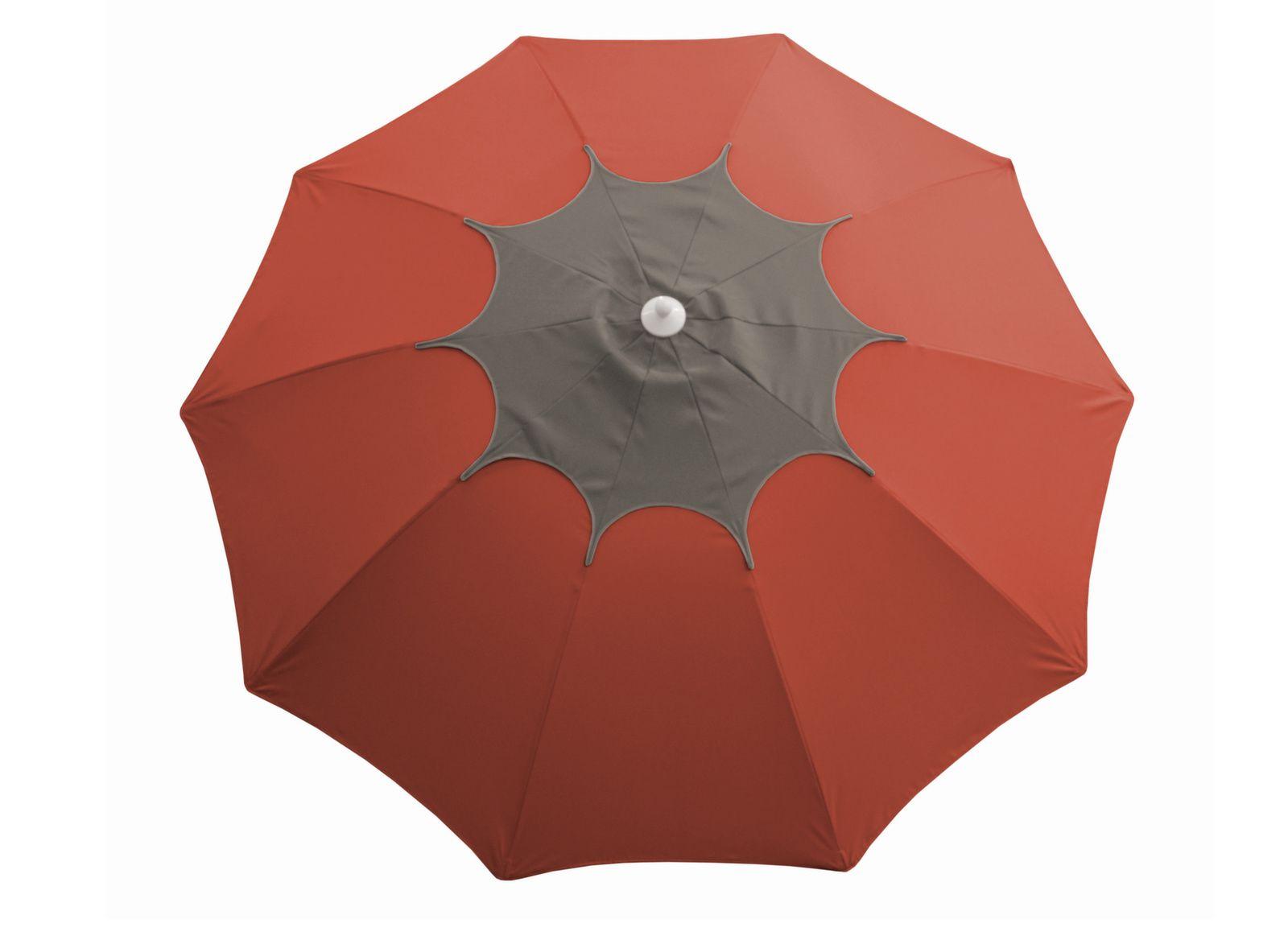 Parasol droit Flower Ø 270 cm