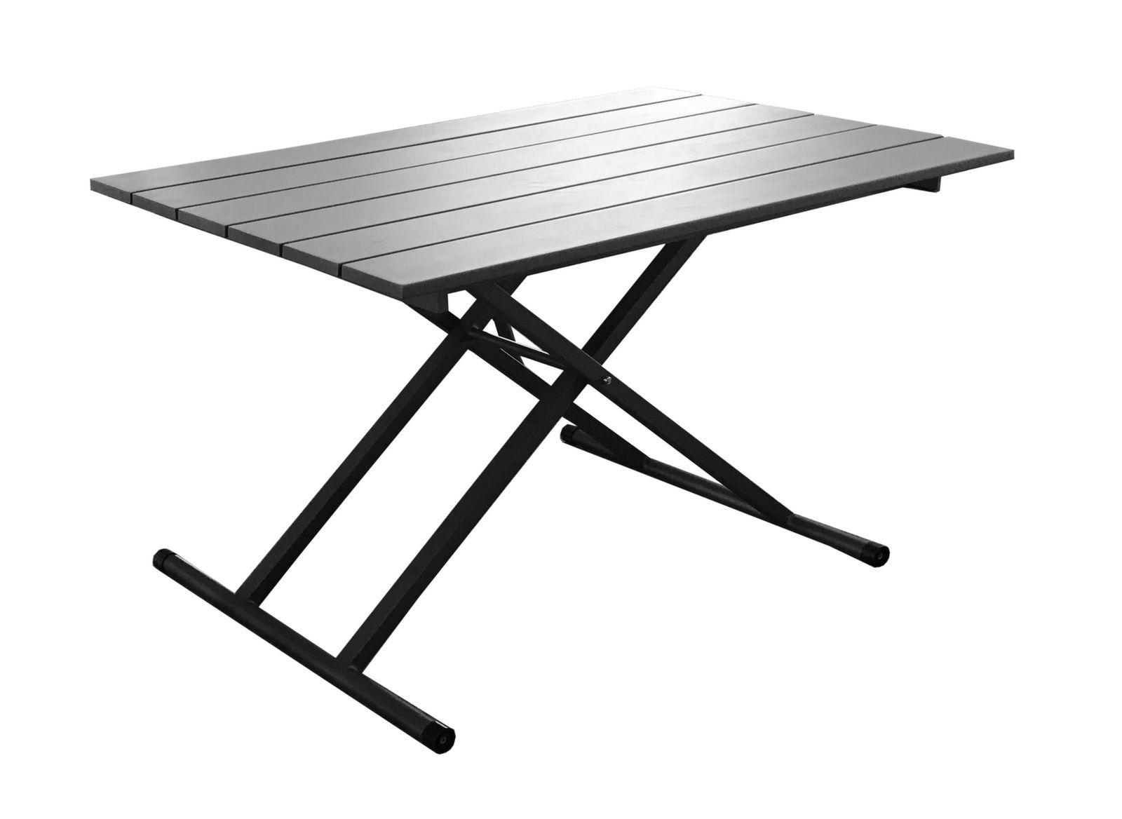 Basses Mobilier Proloisirs Relevable Jardin De Table K3TJlF1c