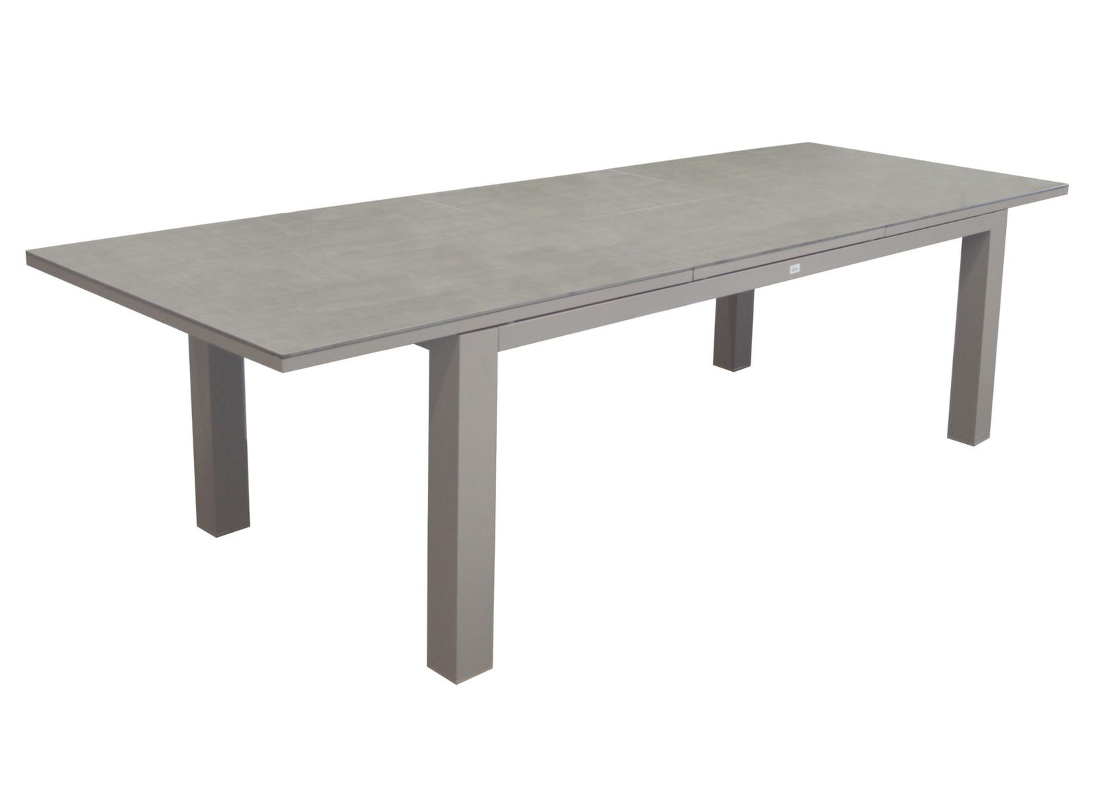 Table Flo 180/240 cm, plateau Trespa®