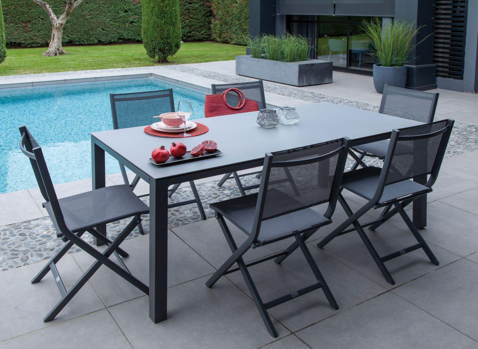 Table Bavella 180 cm, Plateau Céramique