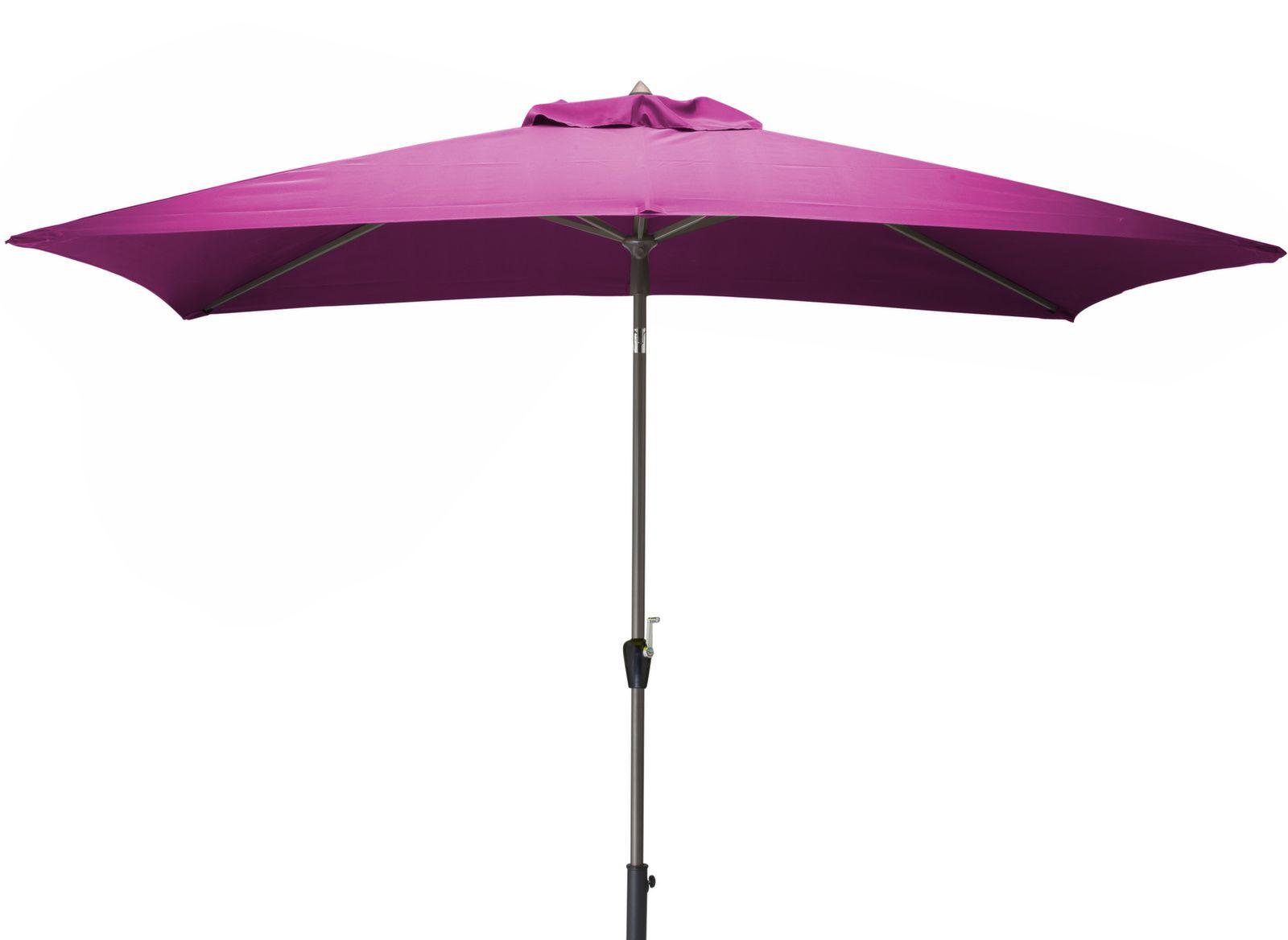 parasol rectangulaire 2 m