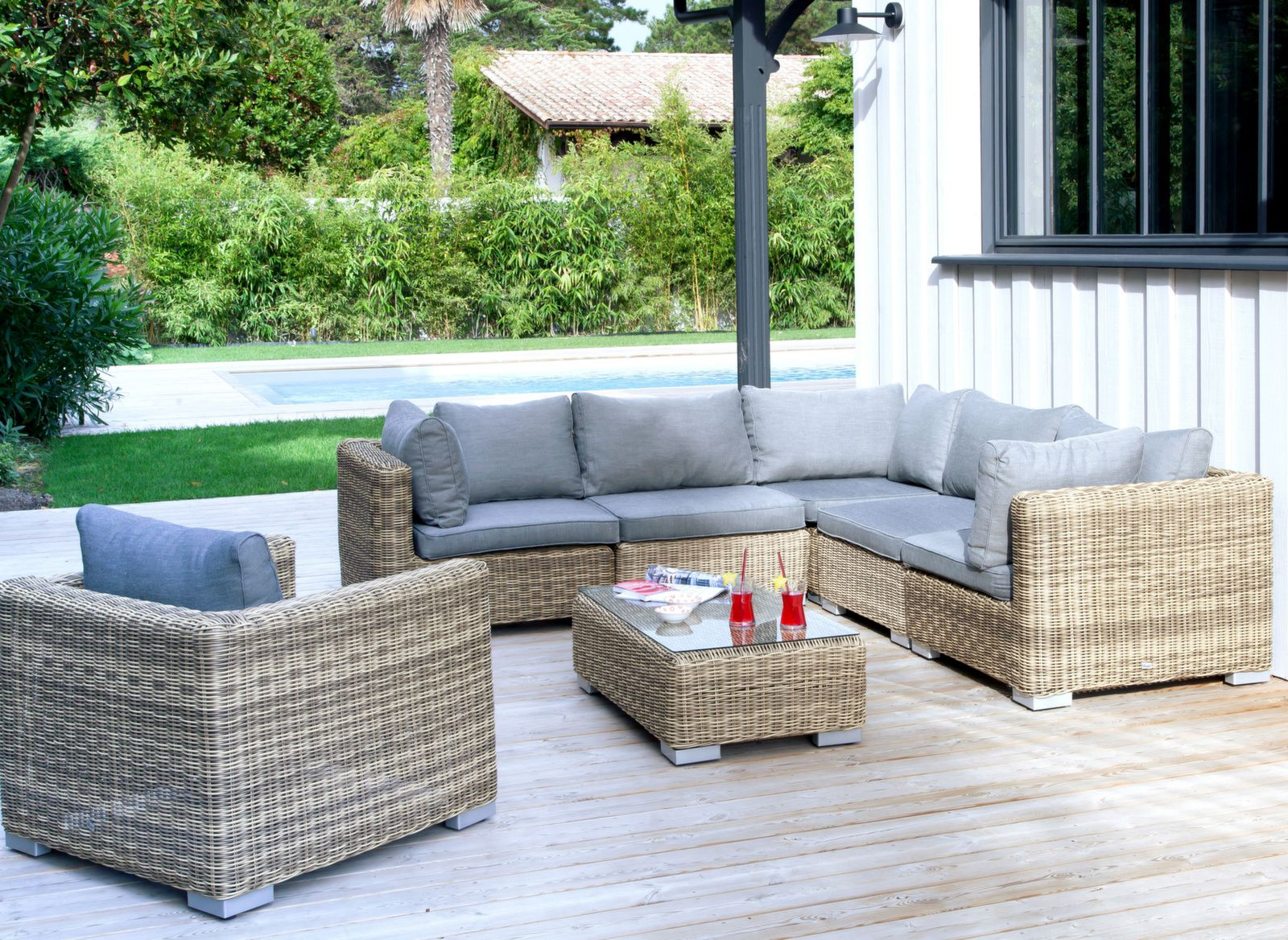 Fauteuil Rattan
