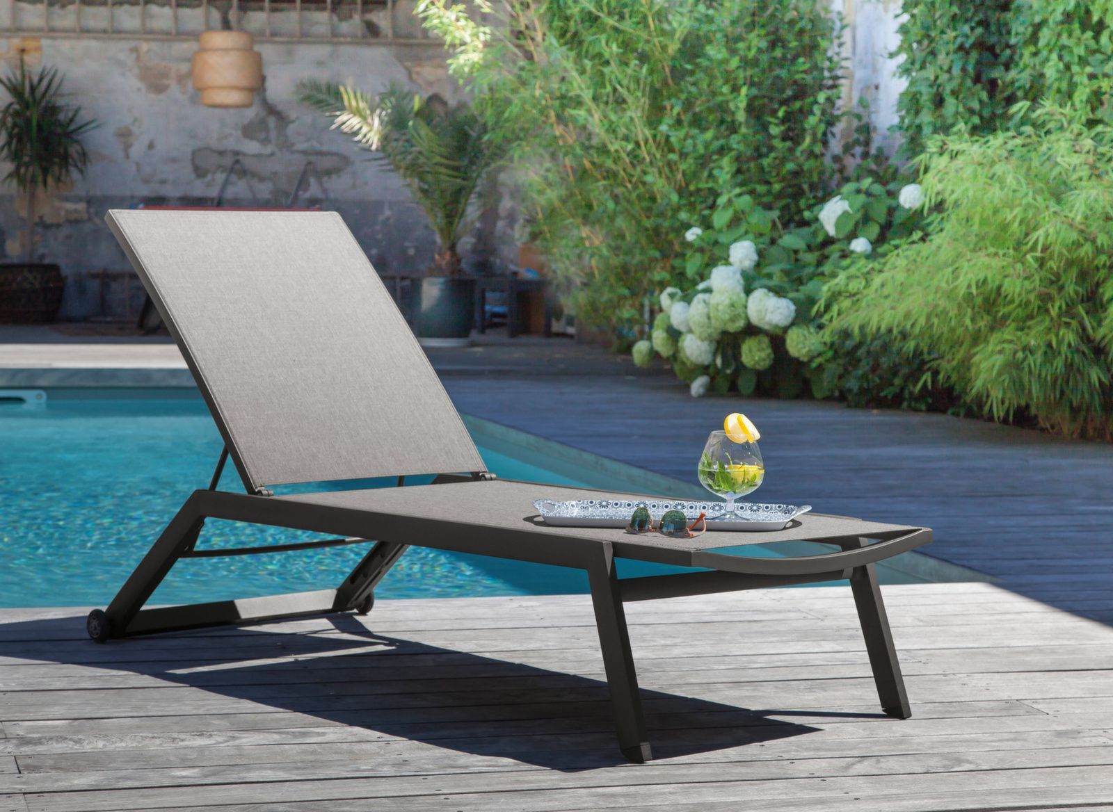 lit de soleil palma mobilier de jardin proloisirs. Black Bedroom Furniture Sets. Home Design Ideas