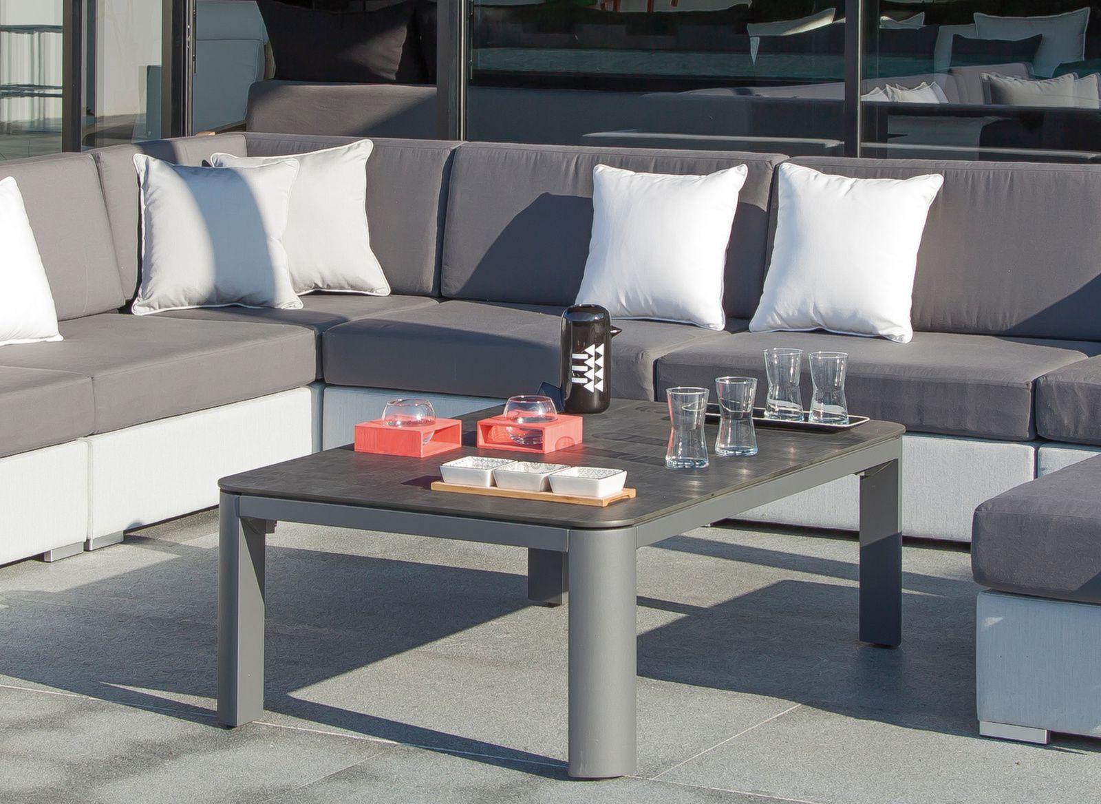 Table basse Eole 120 x 80 cm, plateau Trespa®