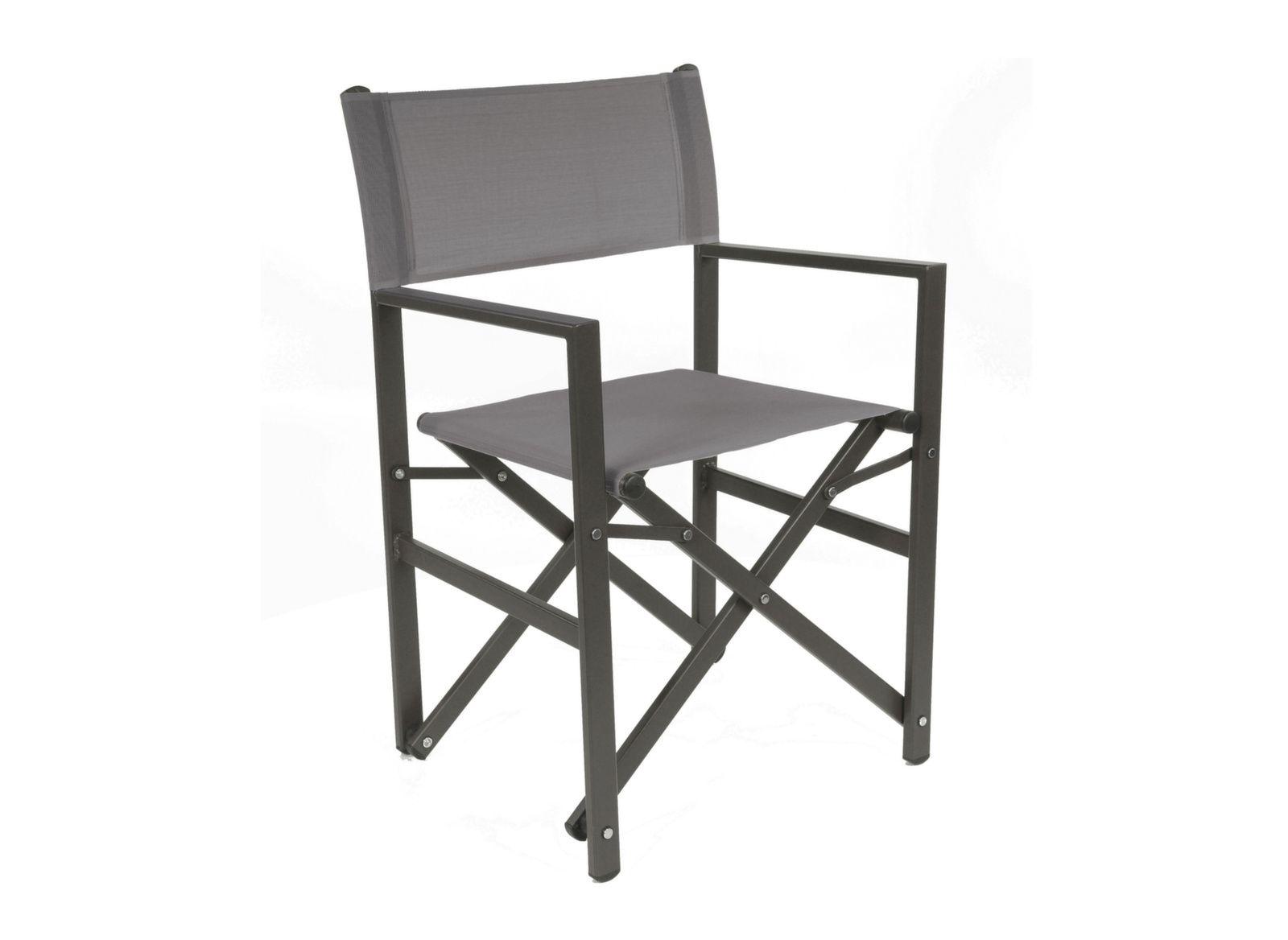 fauteuil pliable en aluminium r gisseur proloisirs. Black Bedroom Furniture Sets. Home Design Ideas