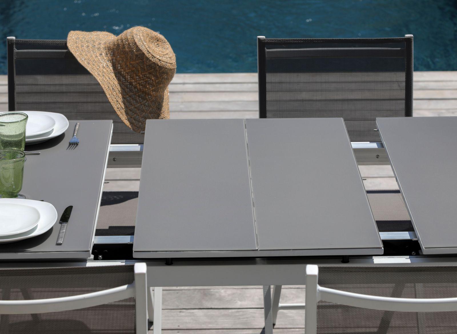 Table Ondine 160/213 cm