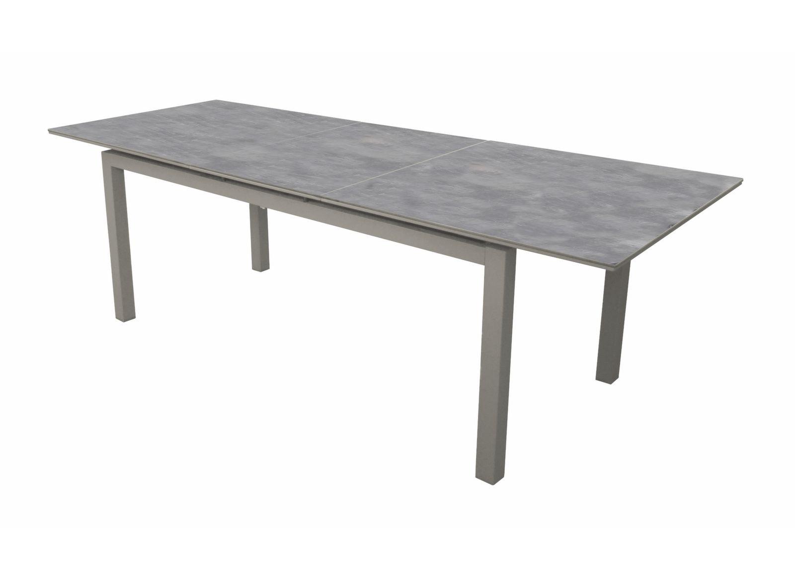 Table Moora 160/210 cm, plateau Arpa