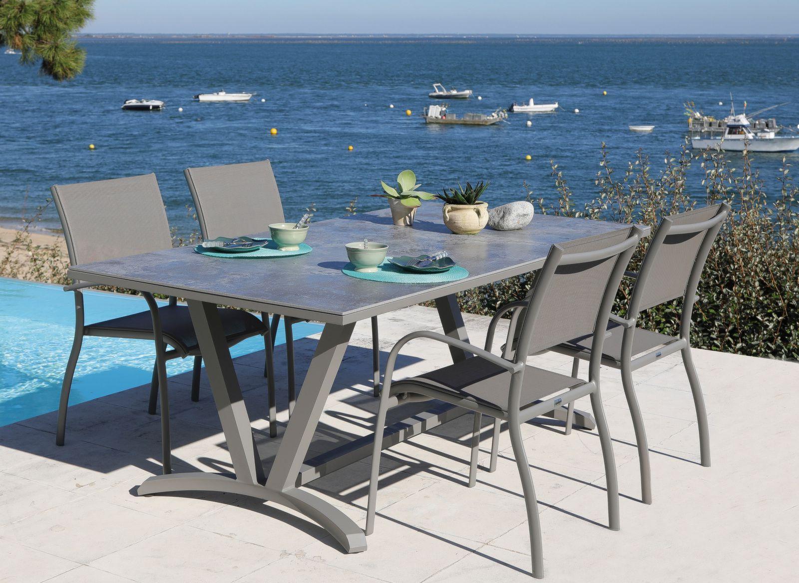 Table Aube 200 cm, plateau Dekton®
