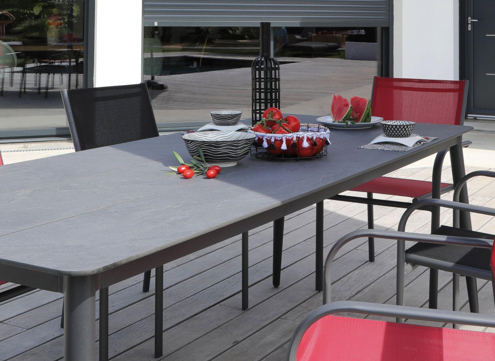 Table Vito 205 cm, plateau Arpa