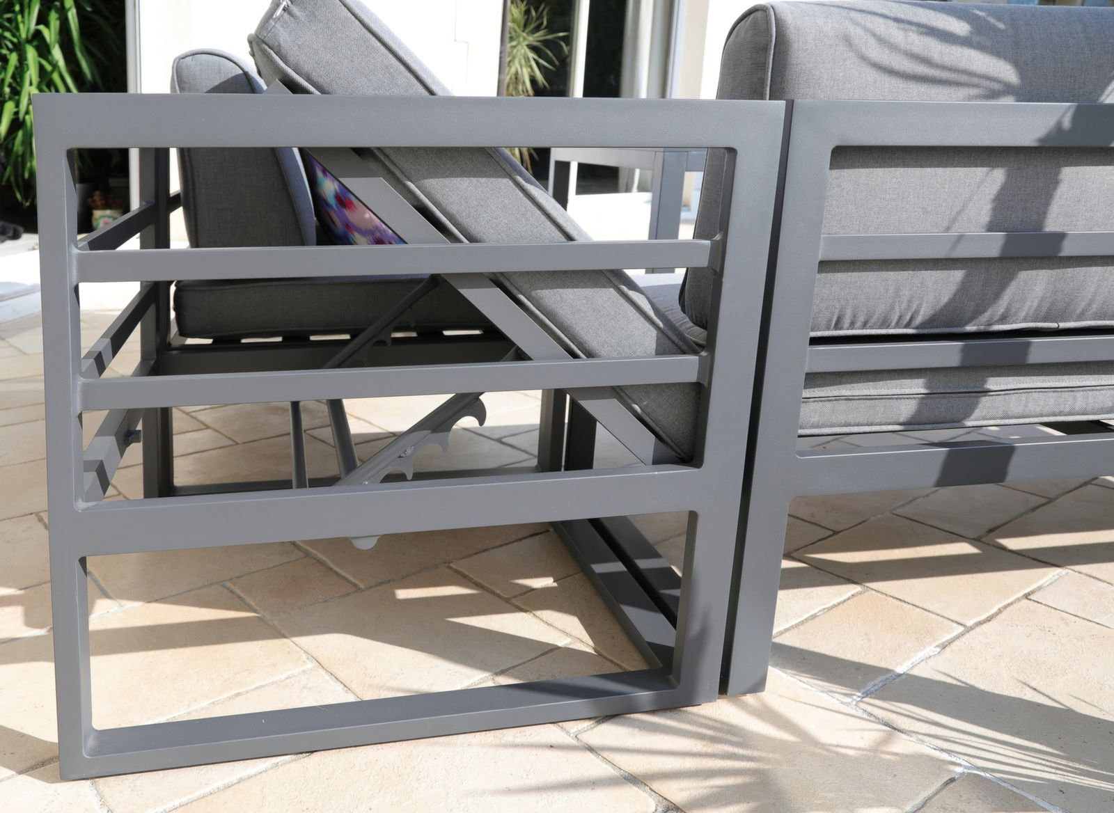 Canape D Angle Royan Avec Banc Et Table
