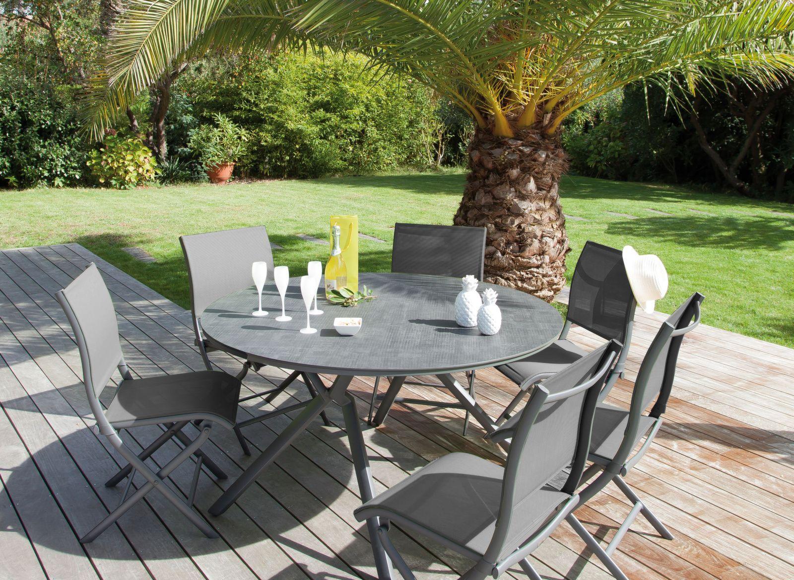 CHAISES 6 PERSONNES HOUSSE DE PROTECTION ELEGANCE POUR TABLE RONDE