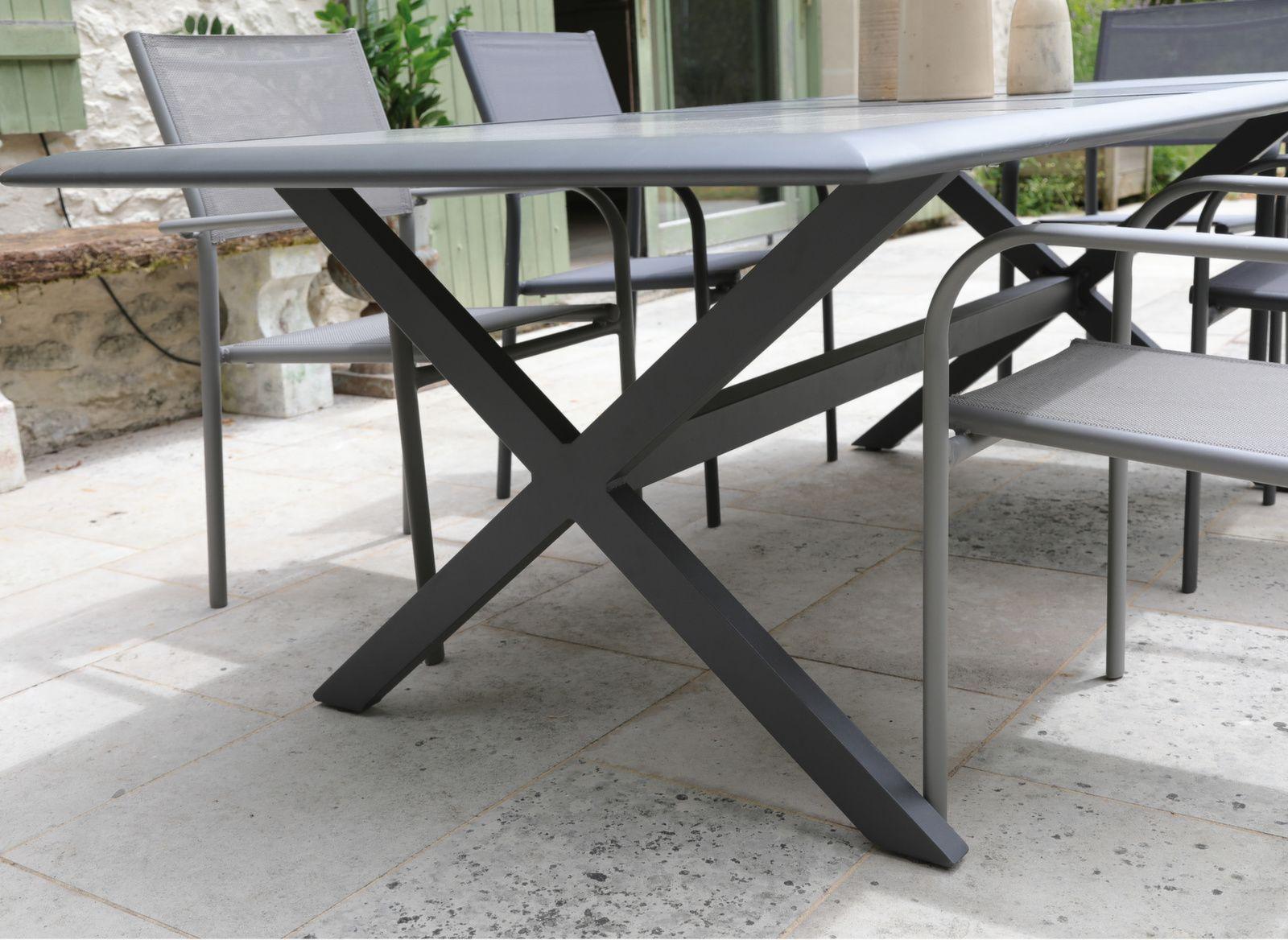 Table Ceramo 220 cm, plateau Céramique