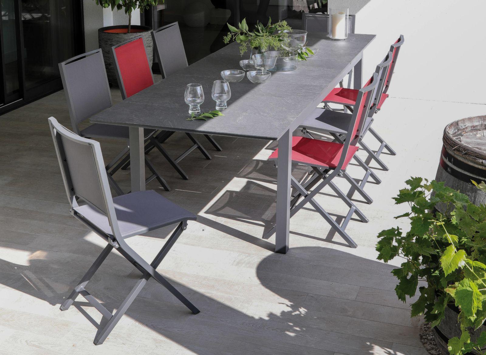 Table Tahaa 210/280 cm, plateau Arpa
