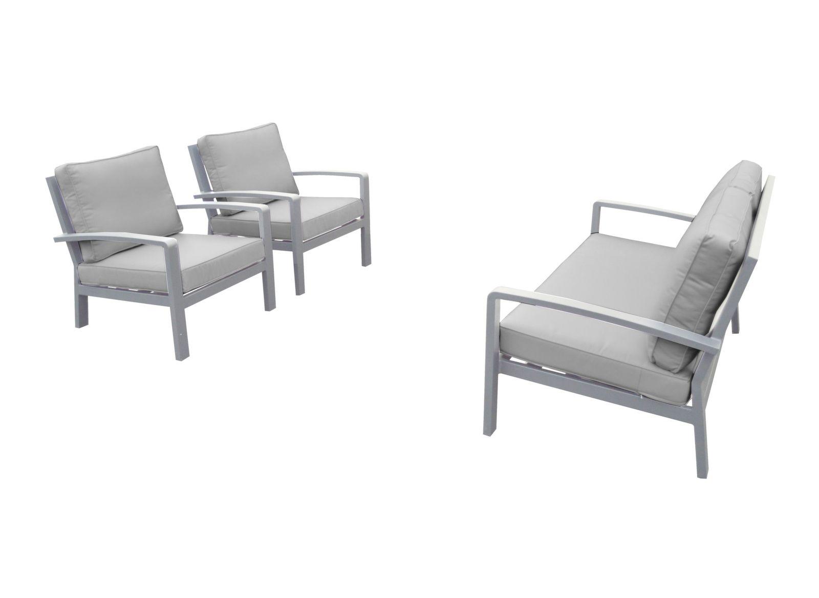Ensemble détente Matéo (2 fauteuils + 1 canapé 2 places)