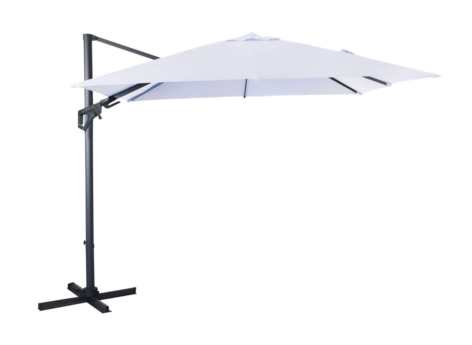 Parasol déporté NH 3 x 3 m orientable