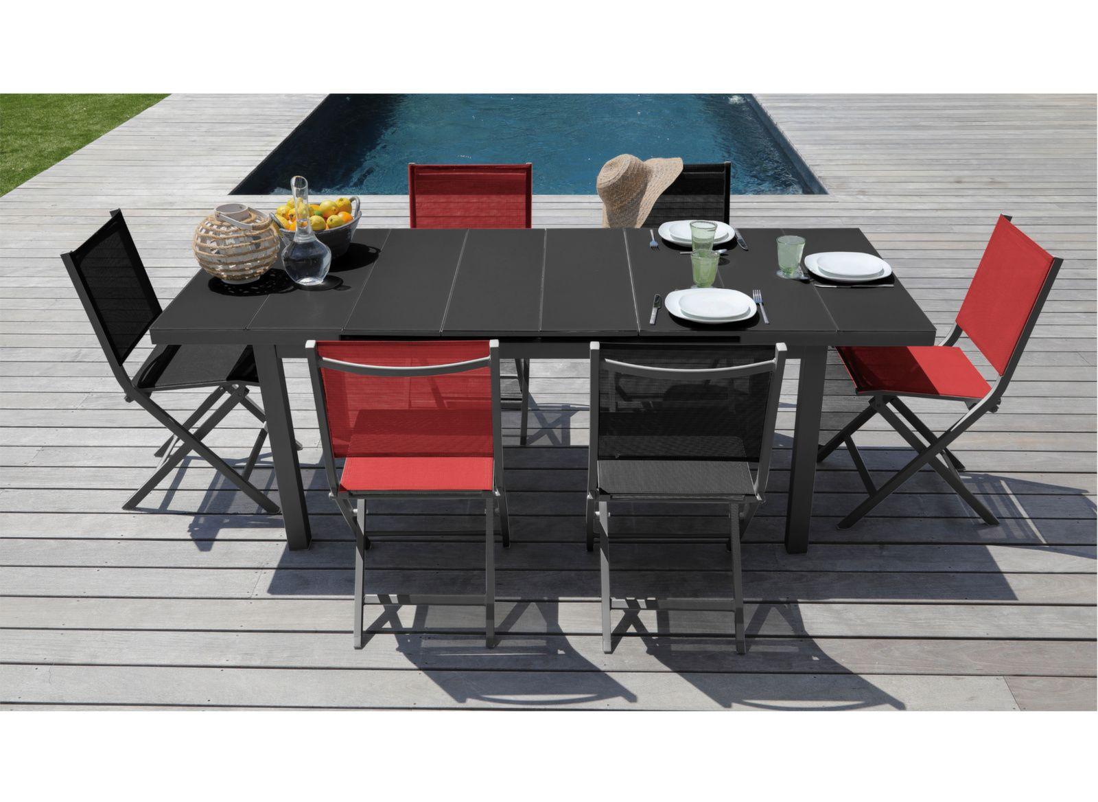 Table Ondine 180/240 cm