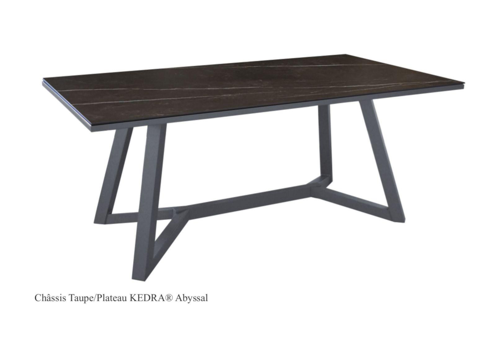 Ma table Agira 220 cm, plateau Kedra®