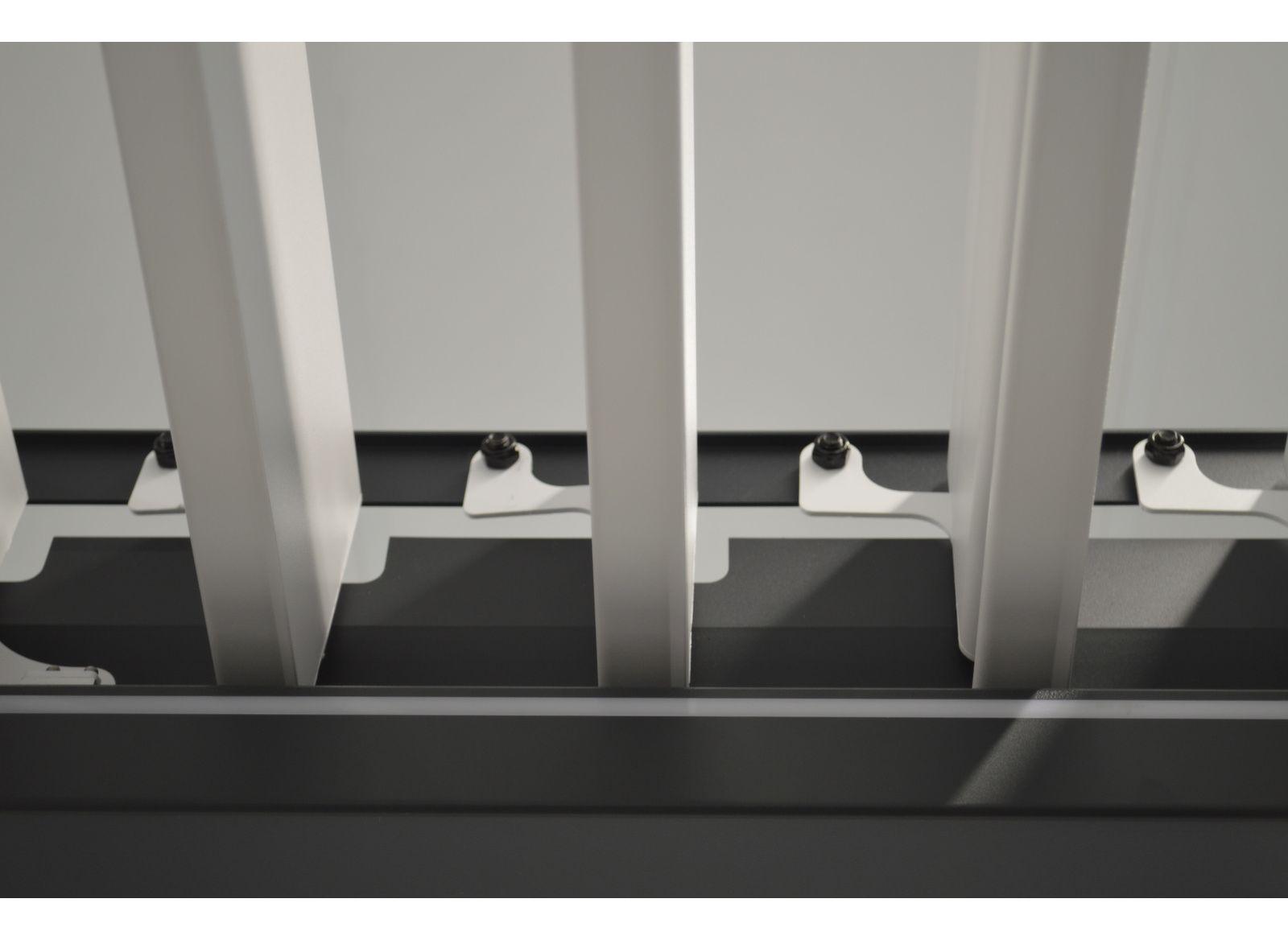 Tonnelle bioclimatique autoportée Zéphir 3x4 m manuelle