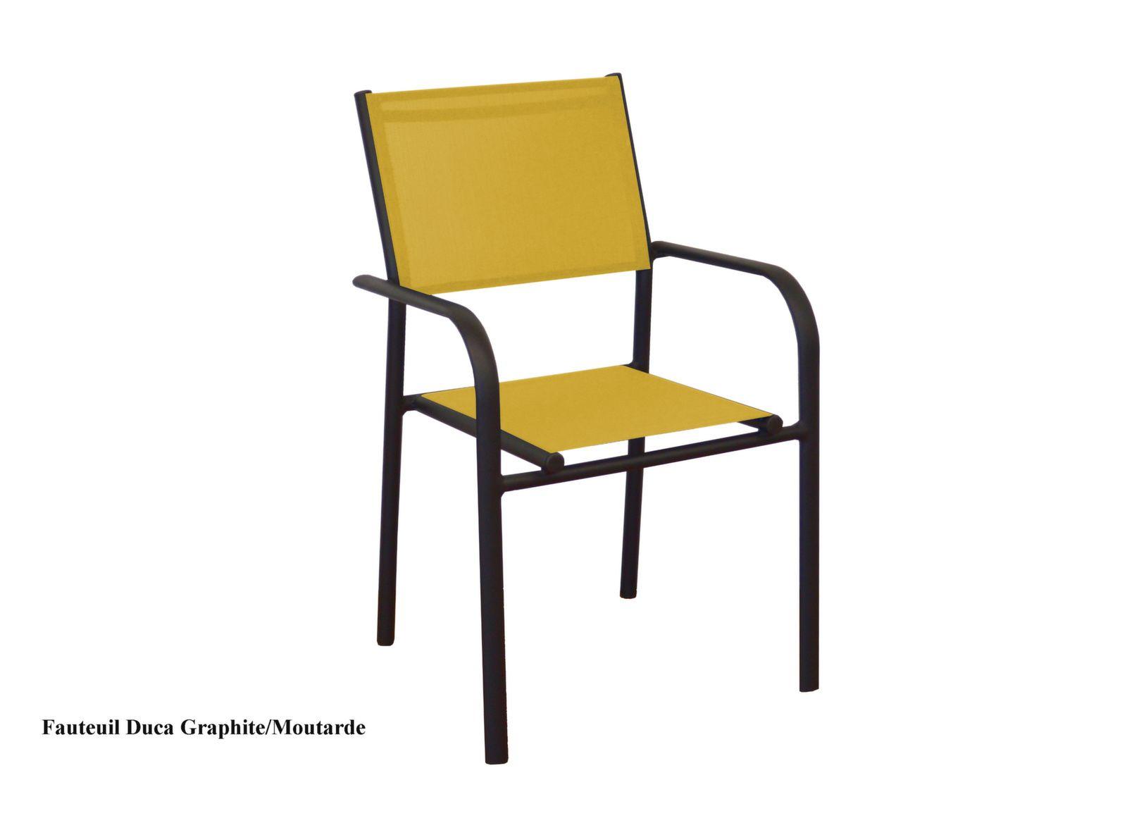 Lot de 6 fauteuils Duca