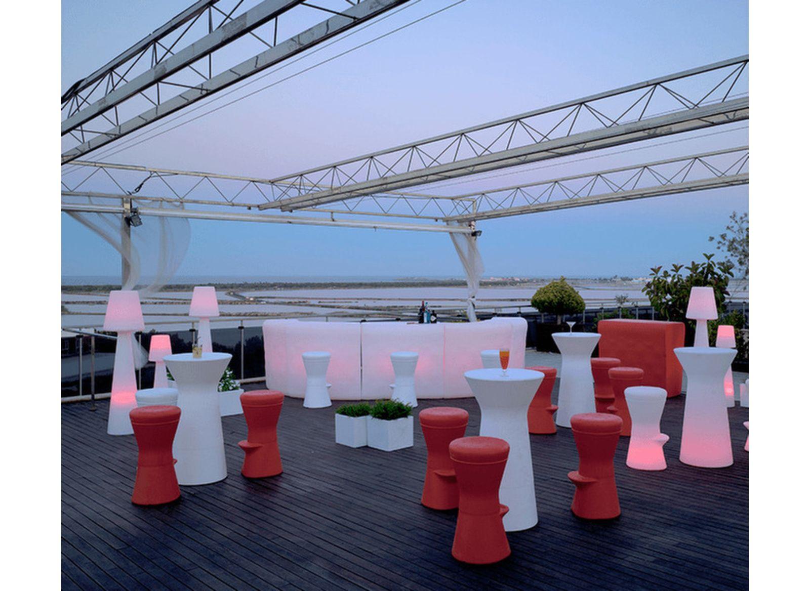 Table haute Capri 110