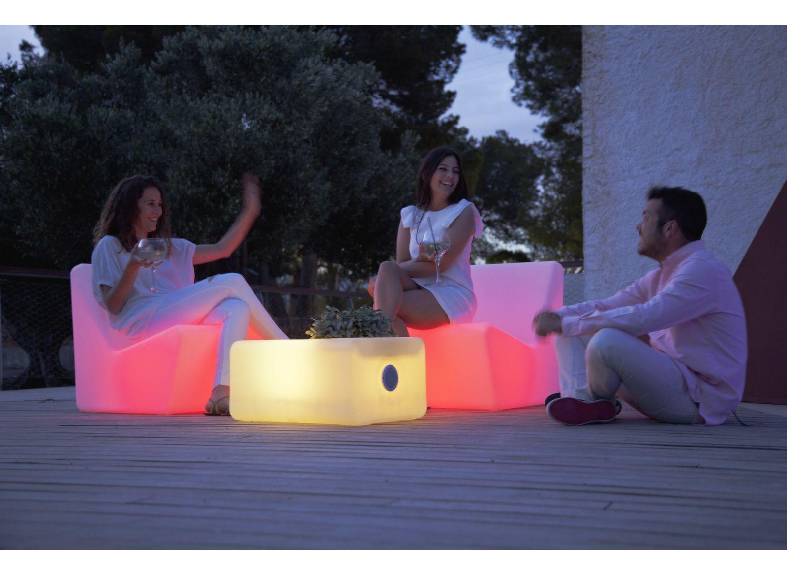 Table basse  lumineuse HP Tarida