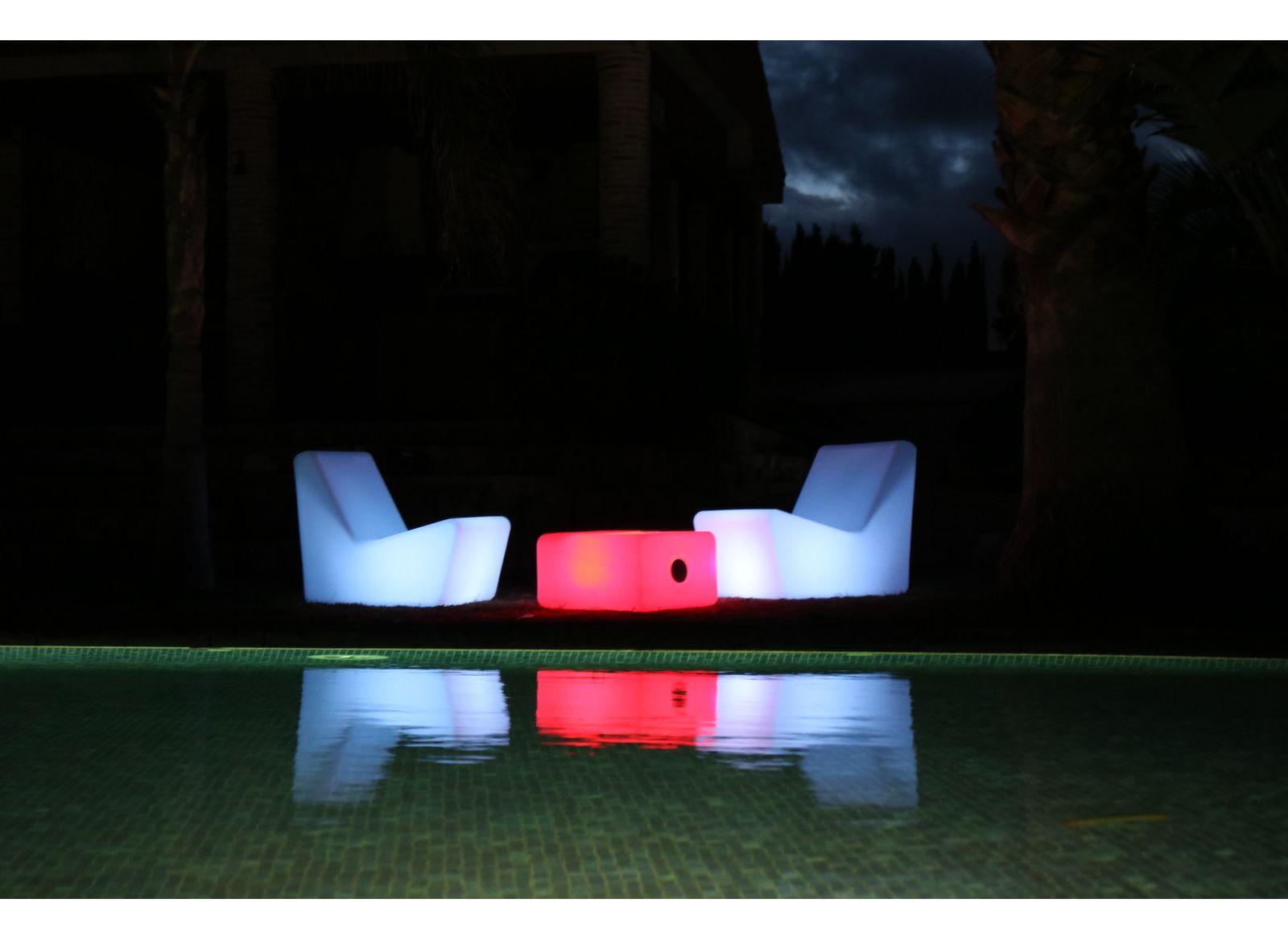 Fauteuil lounge lumineux Tarida